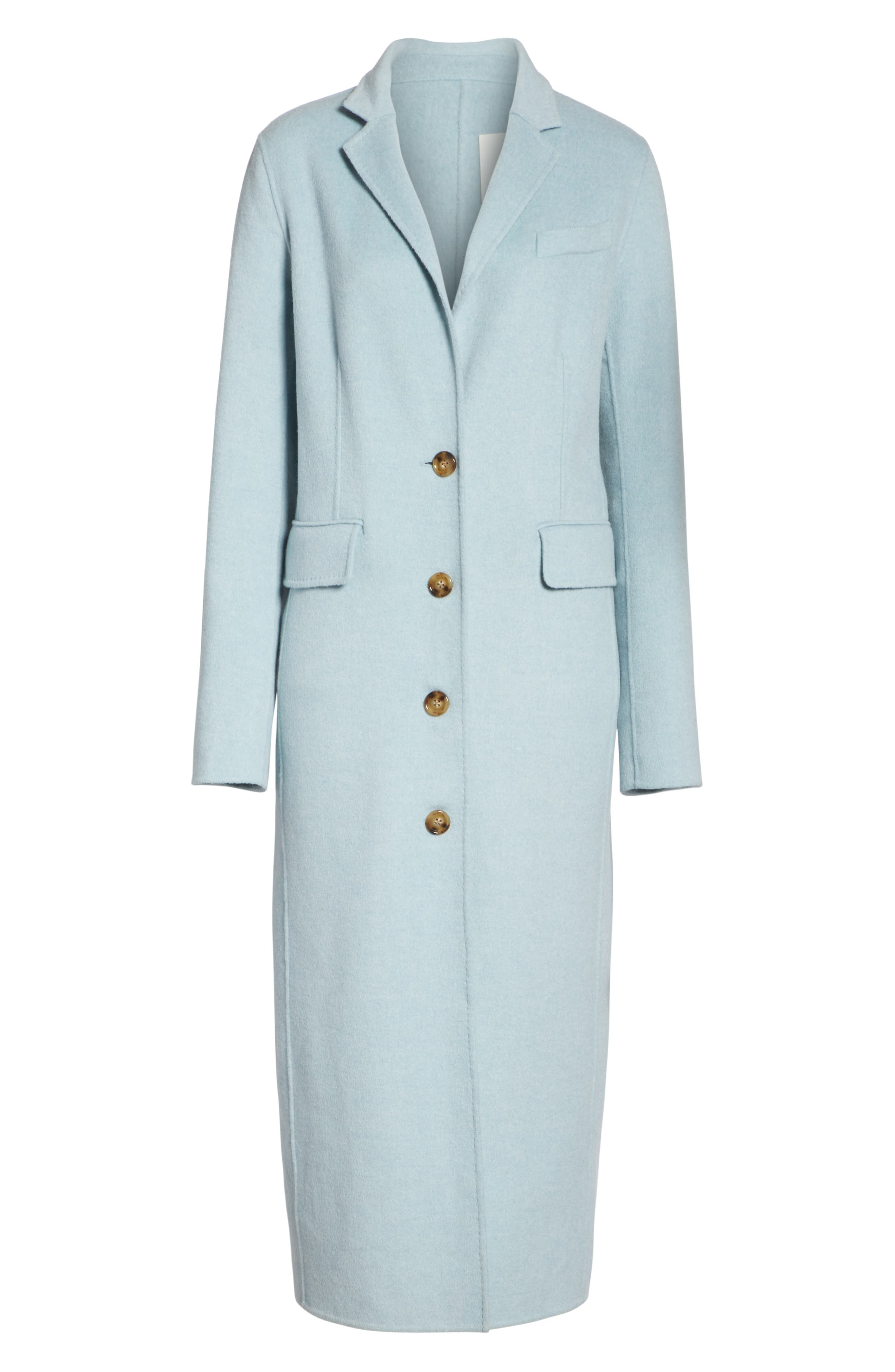 ELIZABETH AND JAMES,                             Russell Wool Blend Coat,                             Alternate thumbnail 5, color,                             400