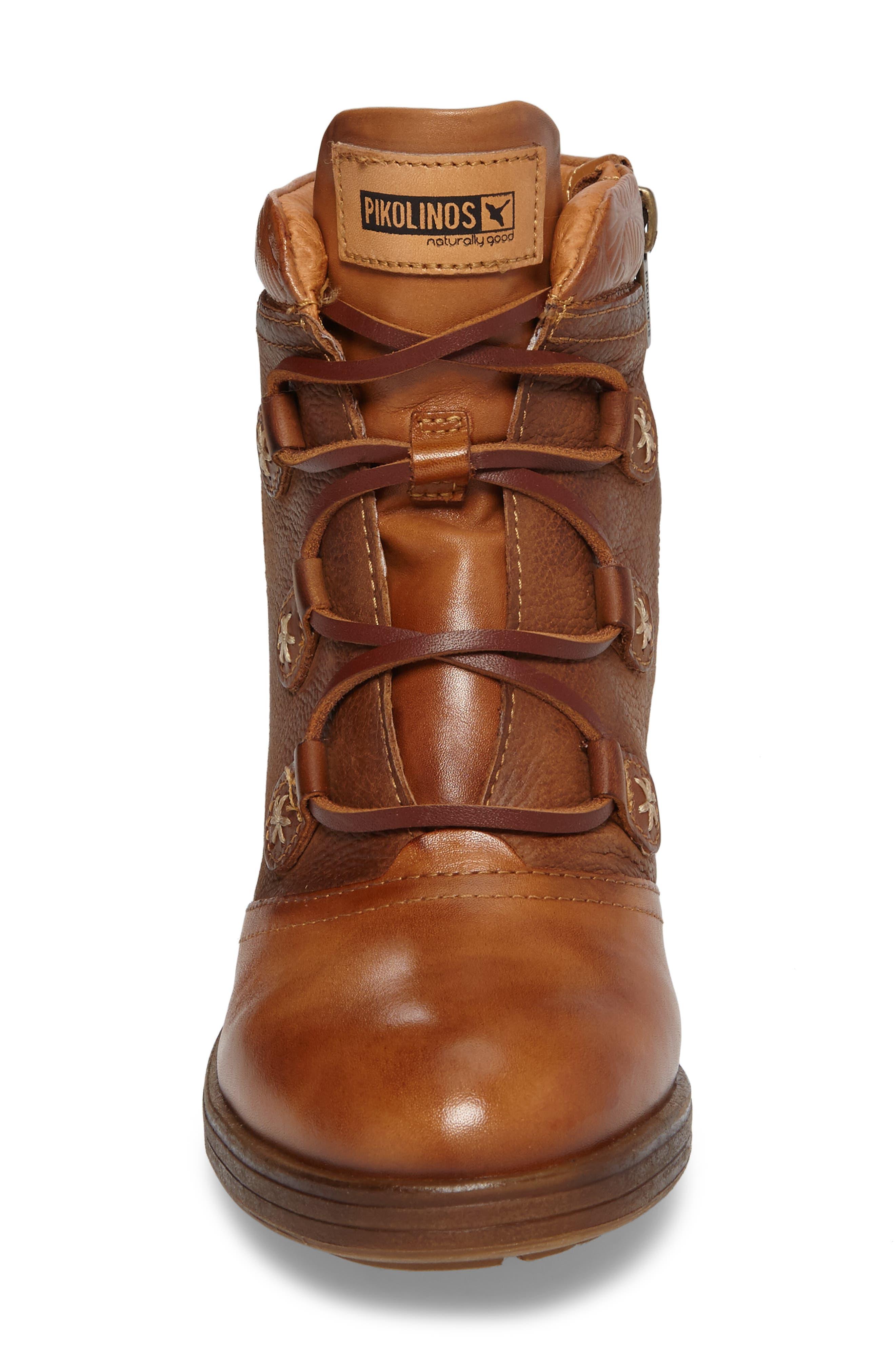 PIKOLINOS,                             Lyon Lace-Up Boot,                             Alternate thumbnail 4, color,                             207