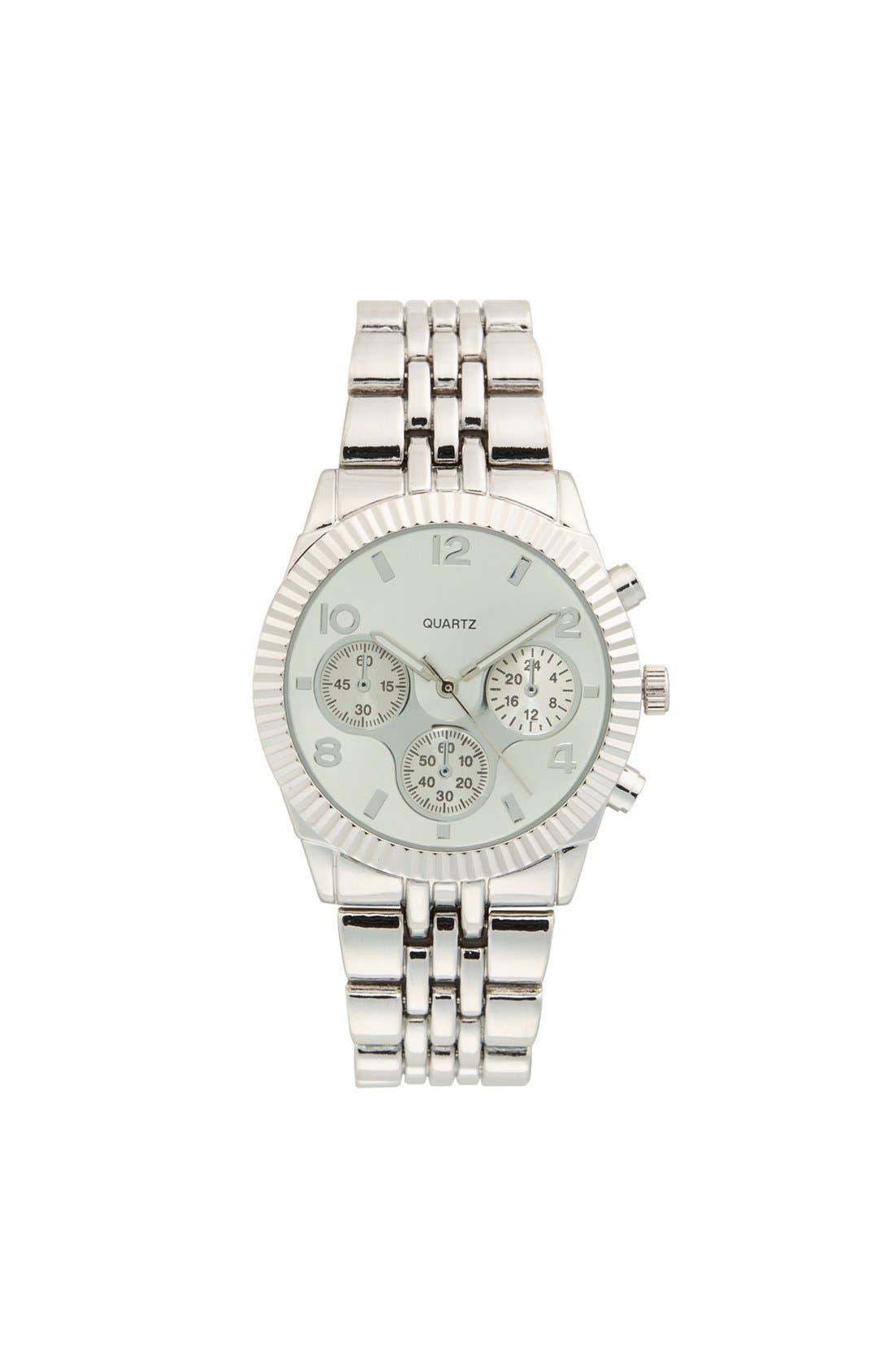 TITANIUM,                             Bracelet Watch, 38mm,                             Main thumbnail 1, color,                             041