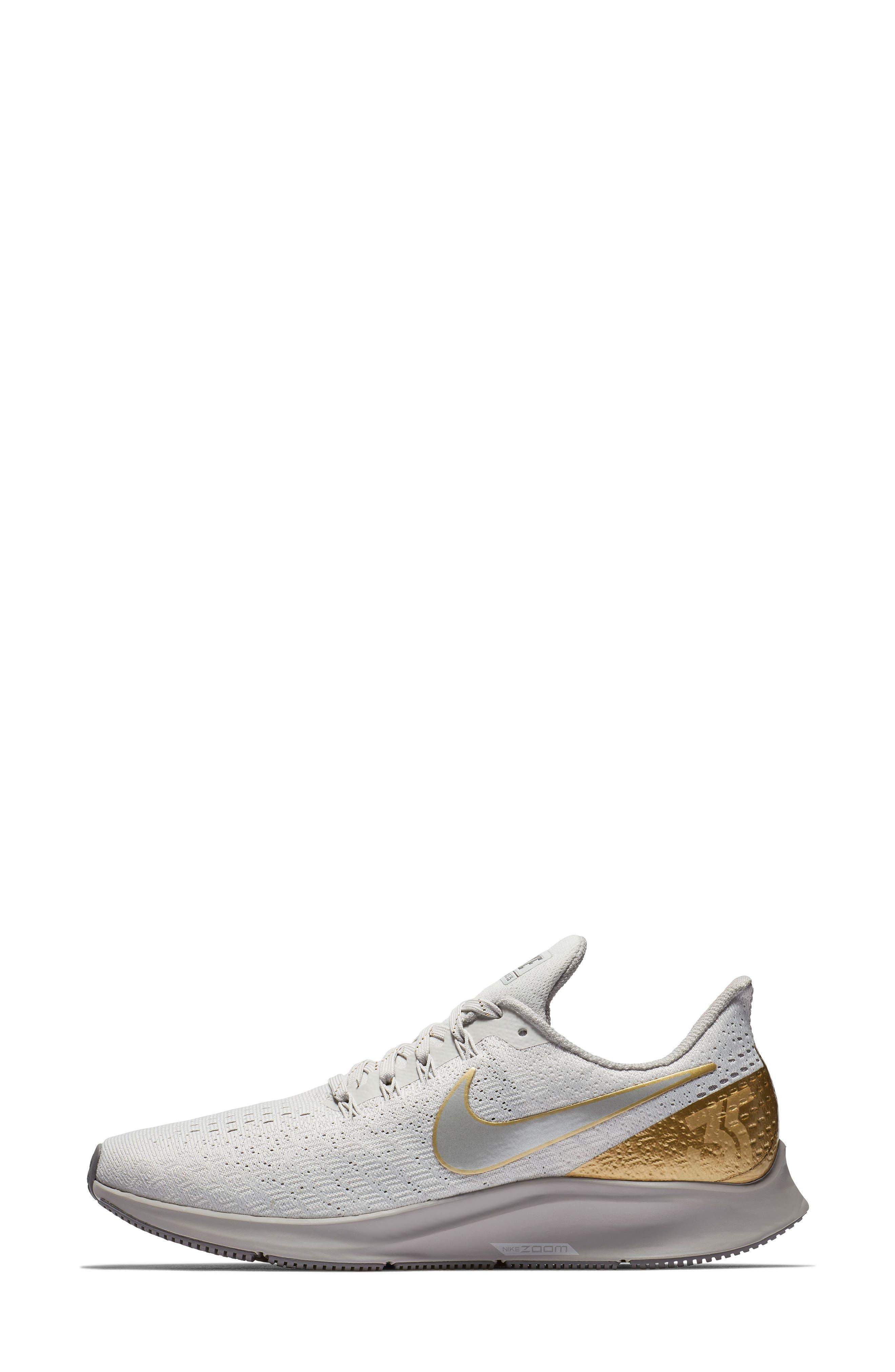 Air Zoom Pegasus 35 Premium Running Shoe,                             Alternate thumbnail 6, color,                             022