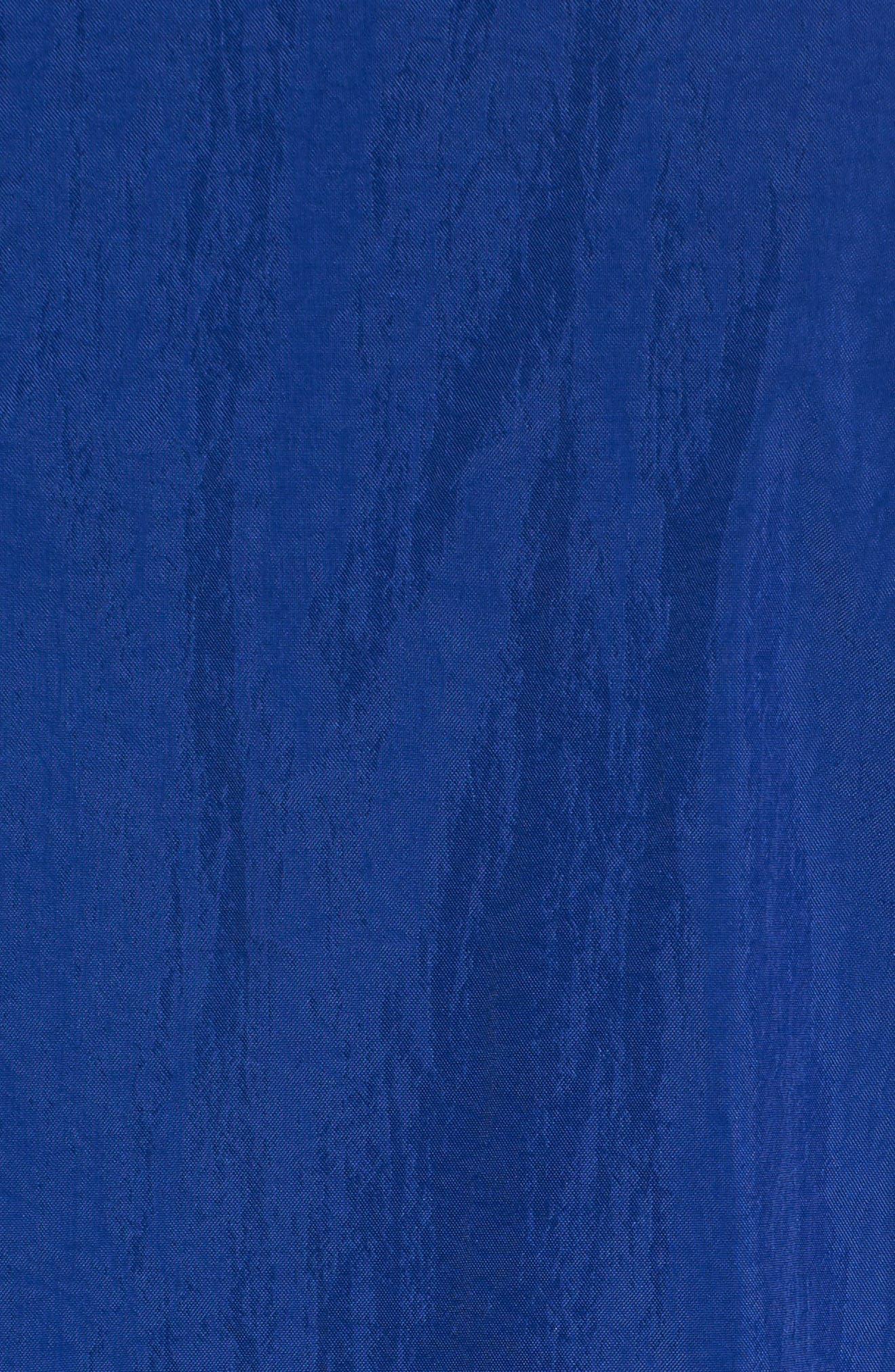 Golden State Warriors Track Jacket,                             Alternate thumbnail 6, color,                             RUSH BLUE/ AMARILLO/ WHITE