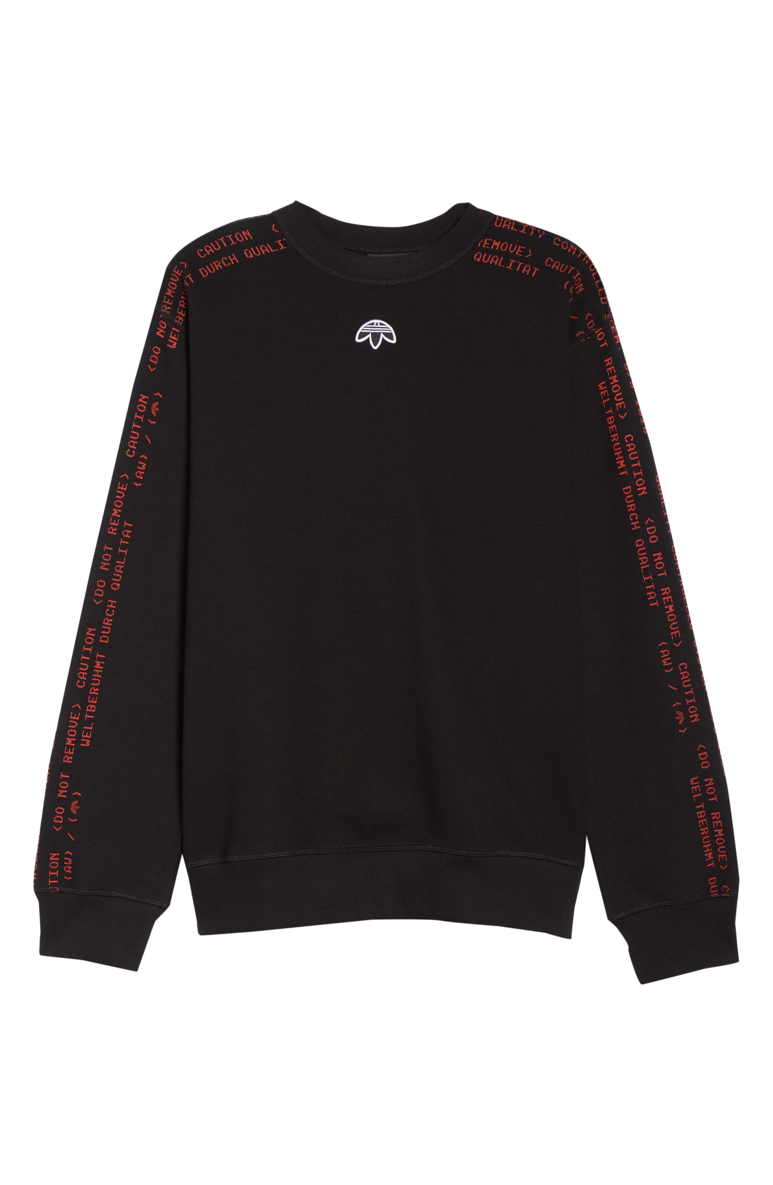 Sweatshirt,                             Alternate thumbnail 7, color,                             001