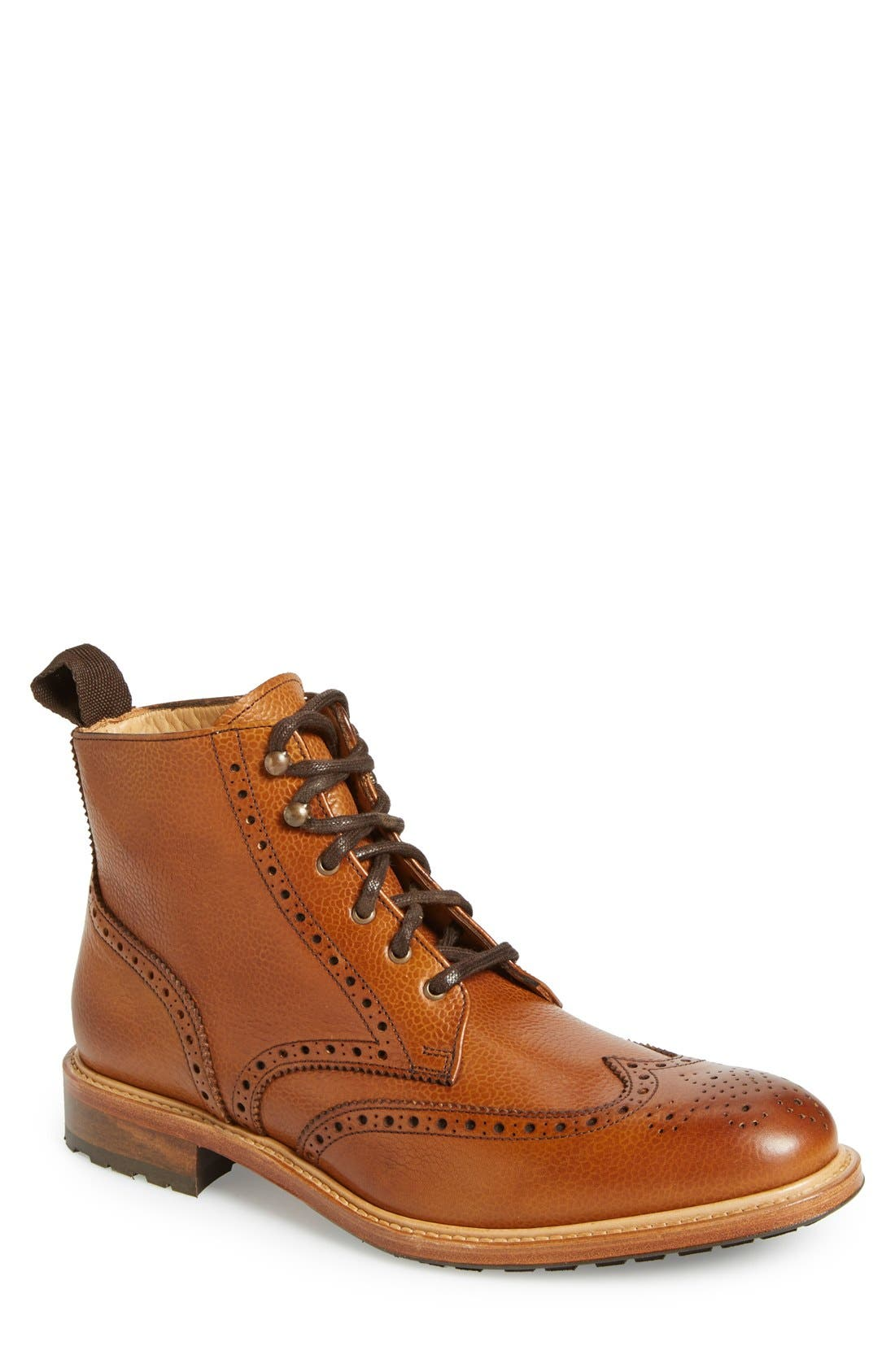 'McCormick' Wingtip Boot,                             Main thumbnail 1, color,                             230