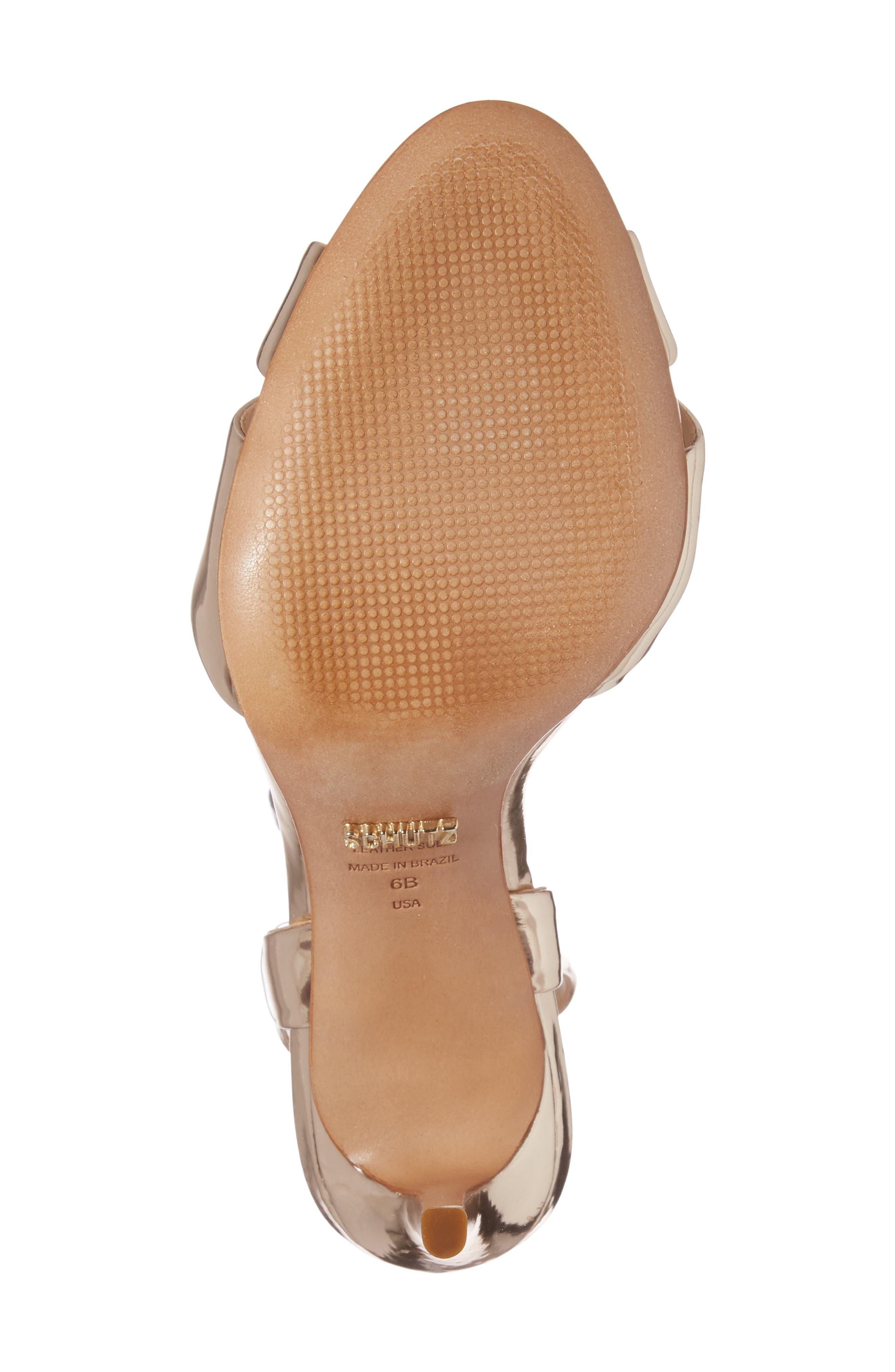 Olyvia Cross Toe Sandal,                             Alternate thumbnail 6, color,                             040