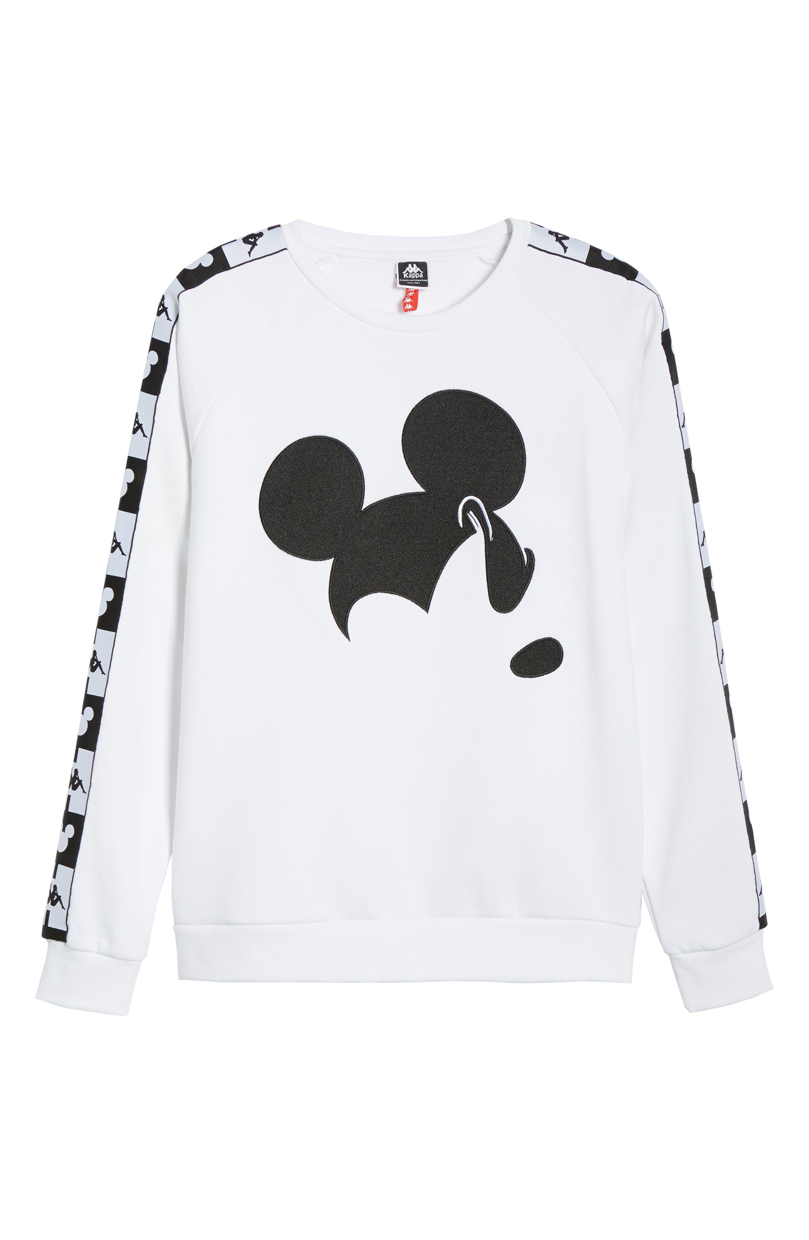 KAPPA,                             x Disney<sup>®</sup> Authentic Audley Sweatshirt,                             Alternate thumbnail 6, color,                             100