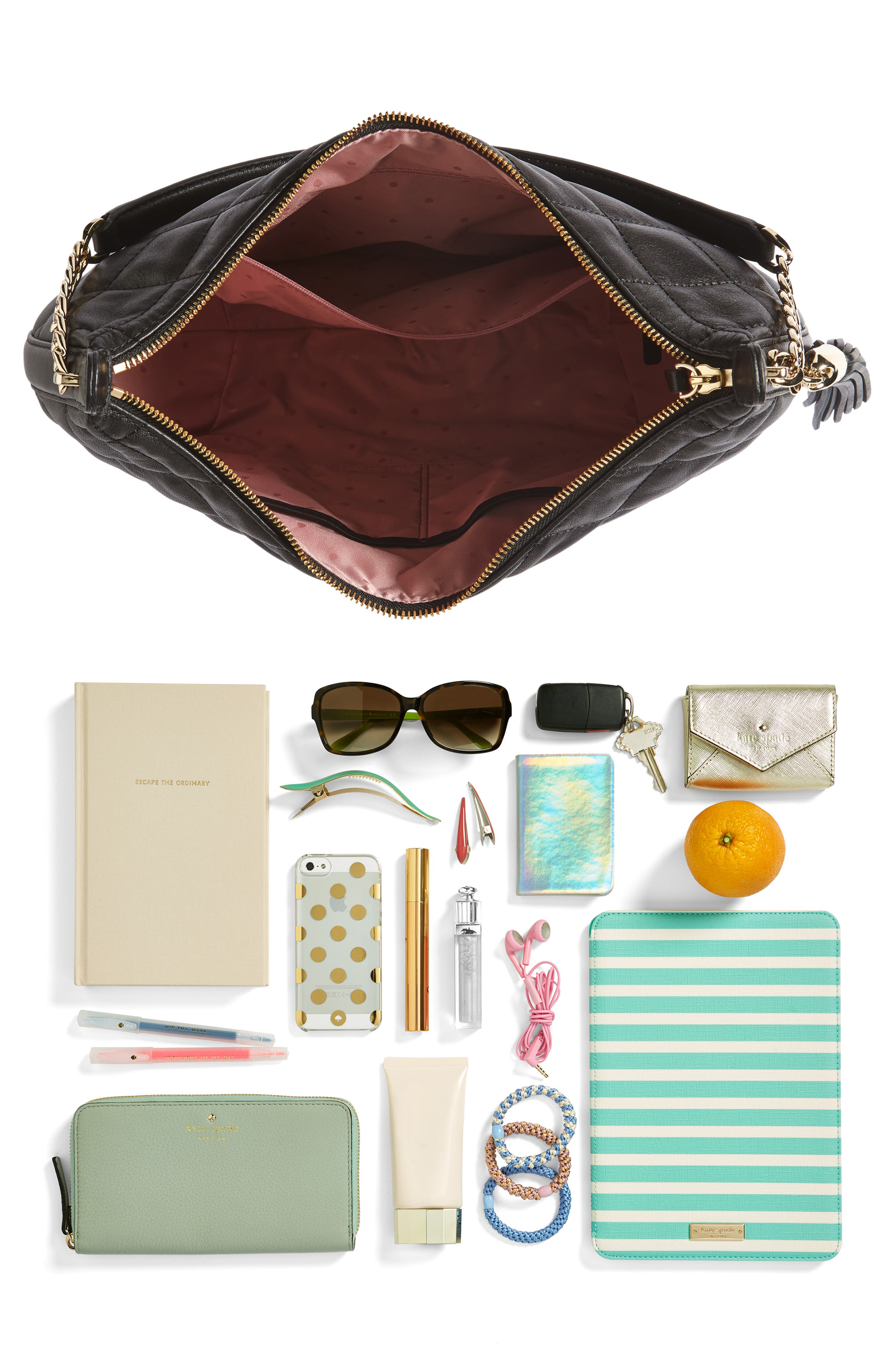 emerson place - tamsin leather hobo,                             Alternate thumbnail 7, color,                             001