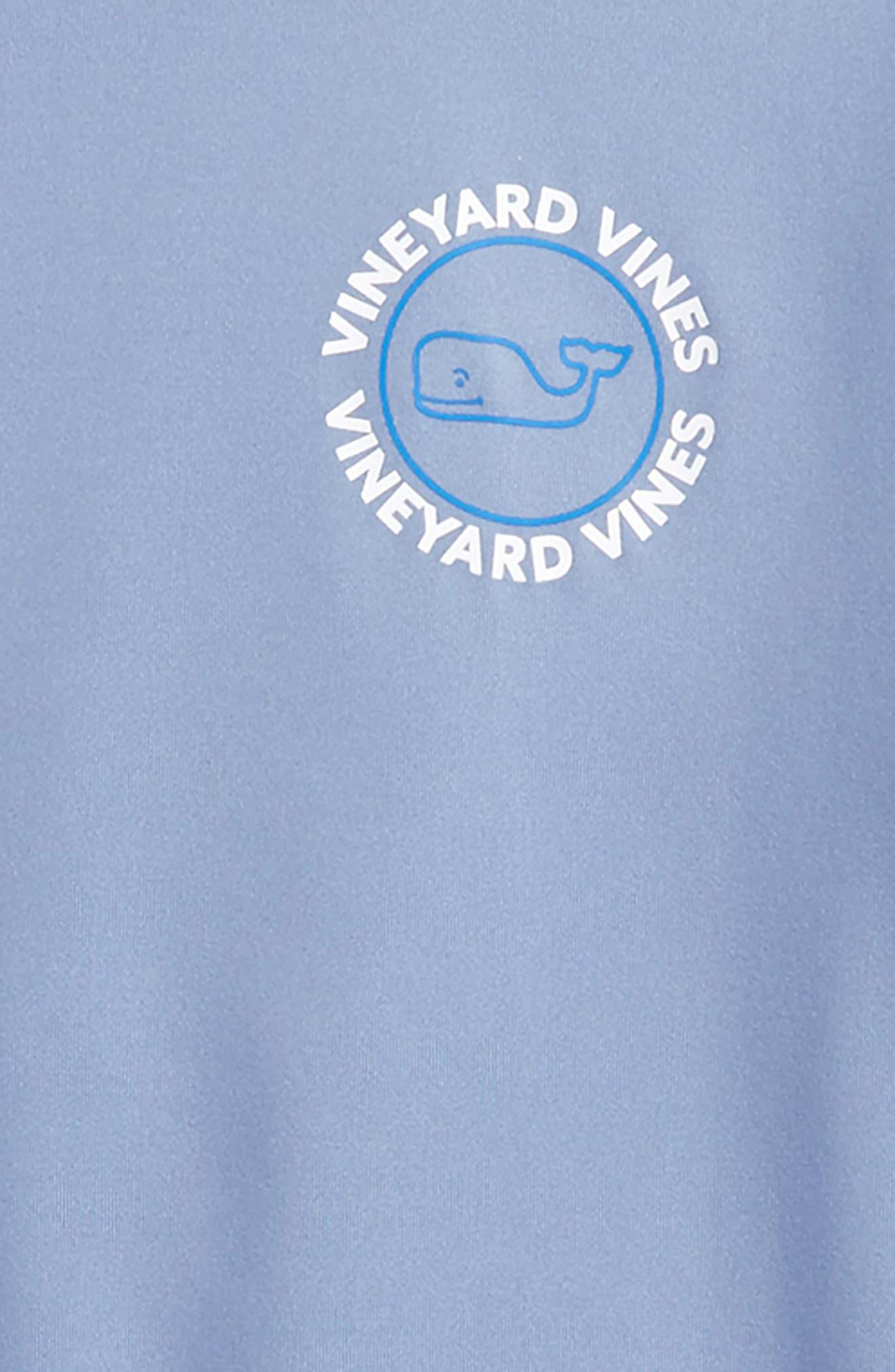 Whale Dot Performance T-Shirt,                             Alternate thumbnail 3, color,