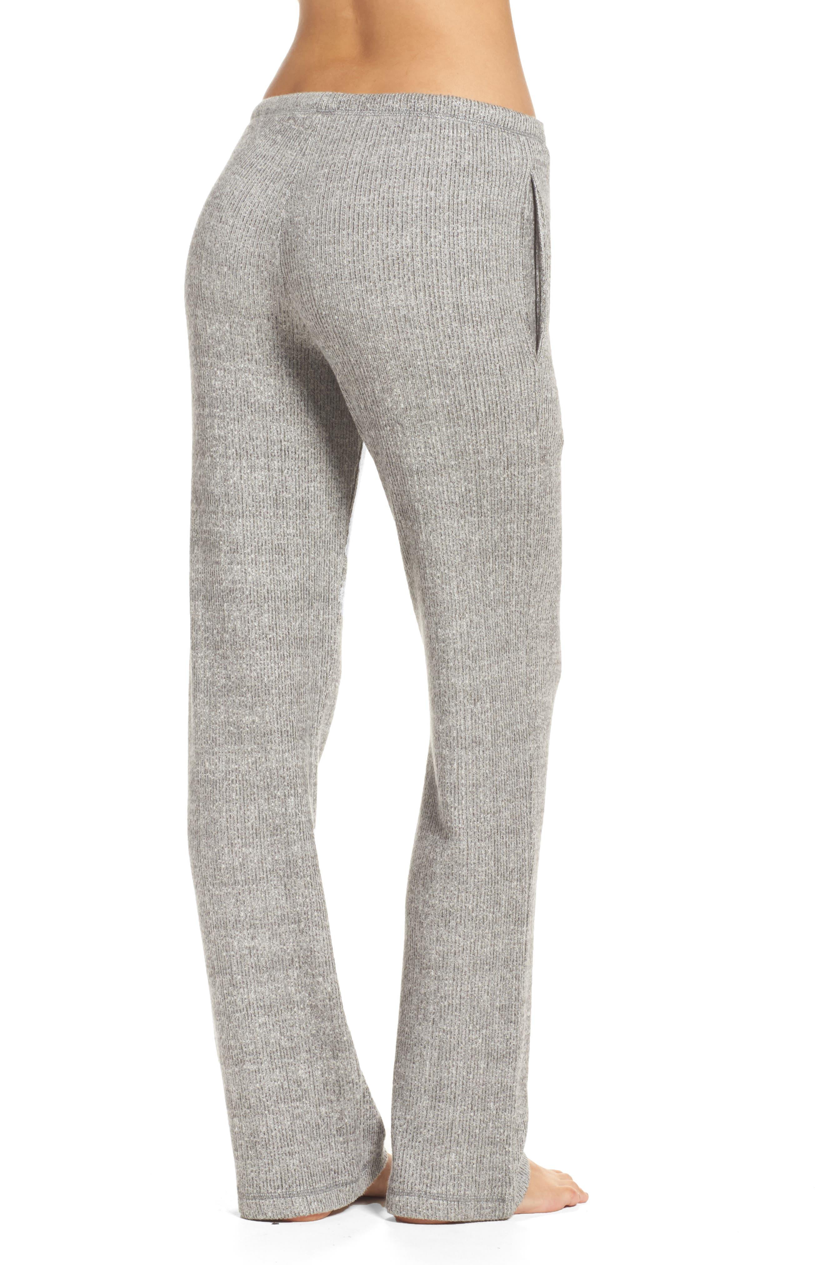 Knit Lounge Pants,                             Alternate thumbnail 2, color,                             020