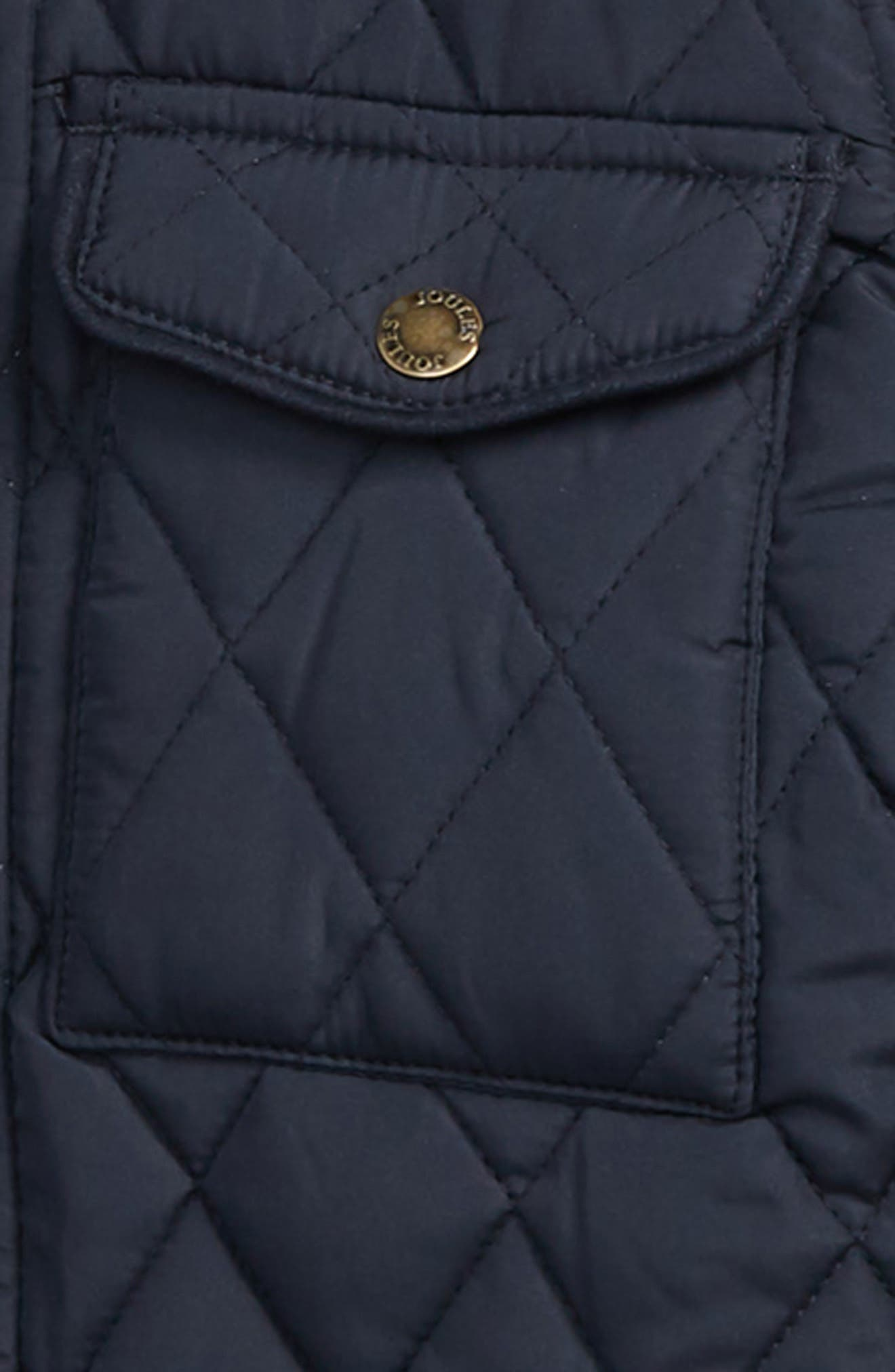 Stafford Quilted Jacket,                             Alternate thumbnail 2, color,                             MARINE NAVY