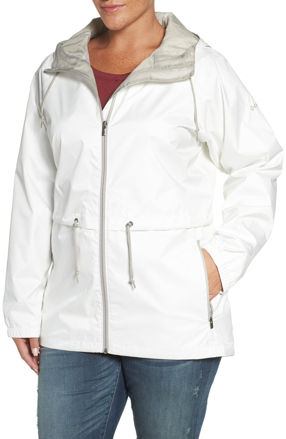 'Arcadia' Hooded Waterproof Casual Jacket,                             Alternate thumbnail 16, color,