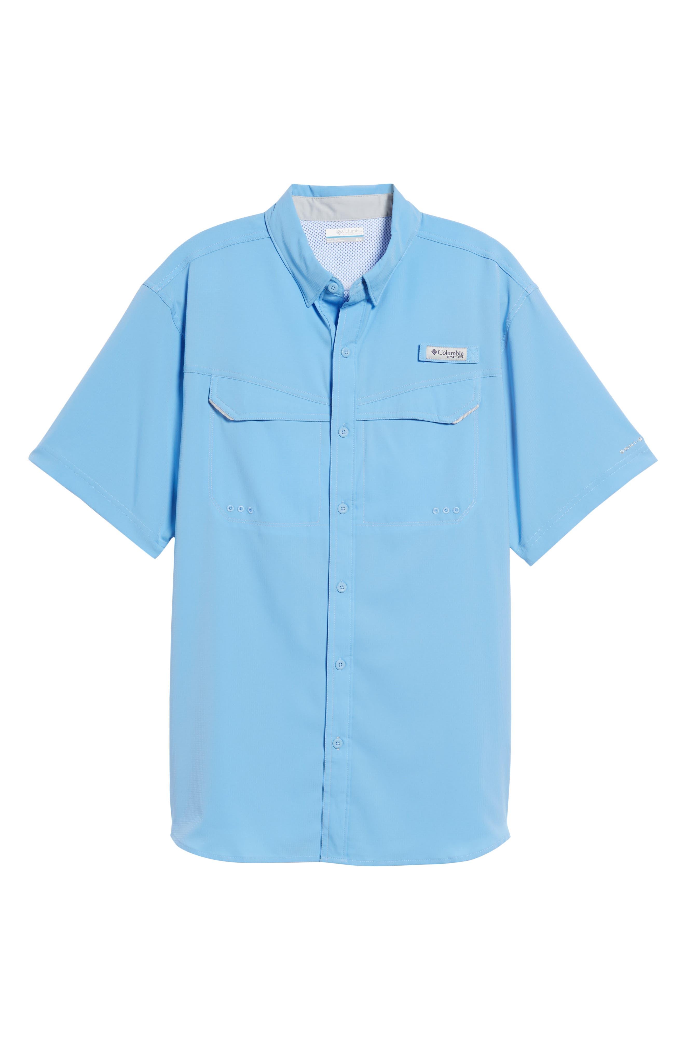 PFG Low Drag Offshore Woven Shirt,                             Alternate thumbnail 6, color,                             150