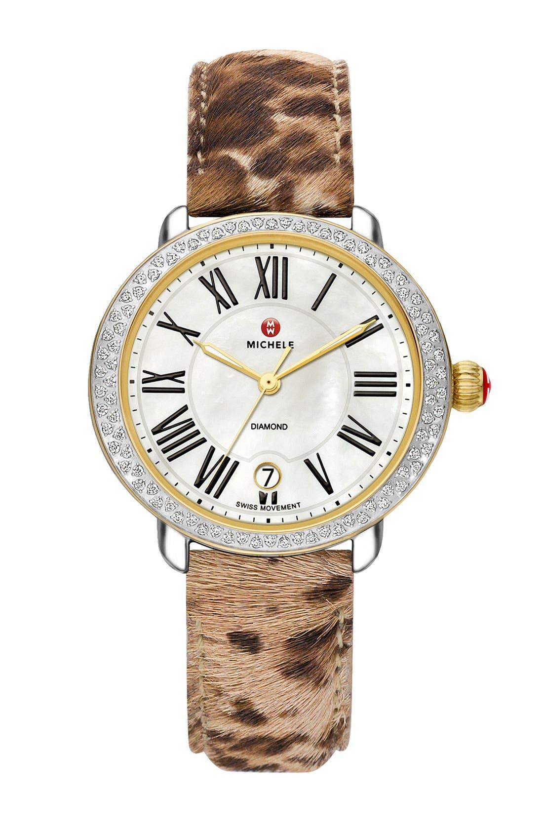 Serein 16 Diamond Watch Case, 34mm x 36mm,                             Alternate thumbnail 25, color,