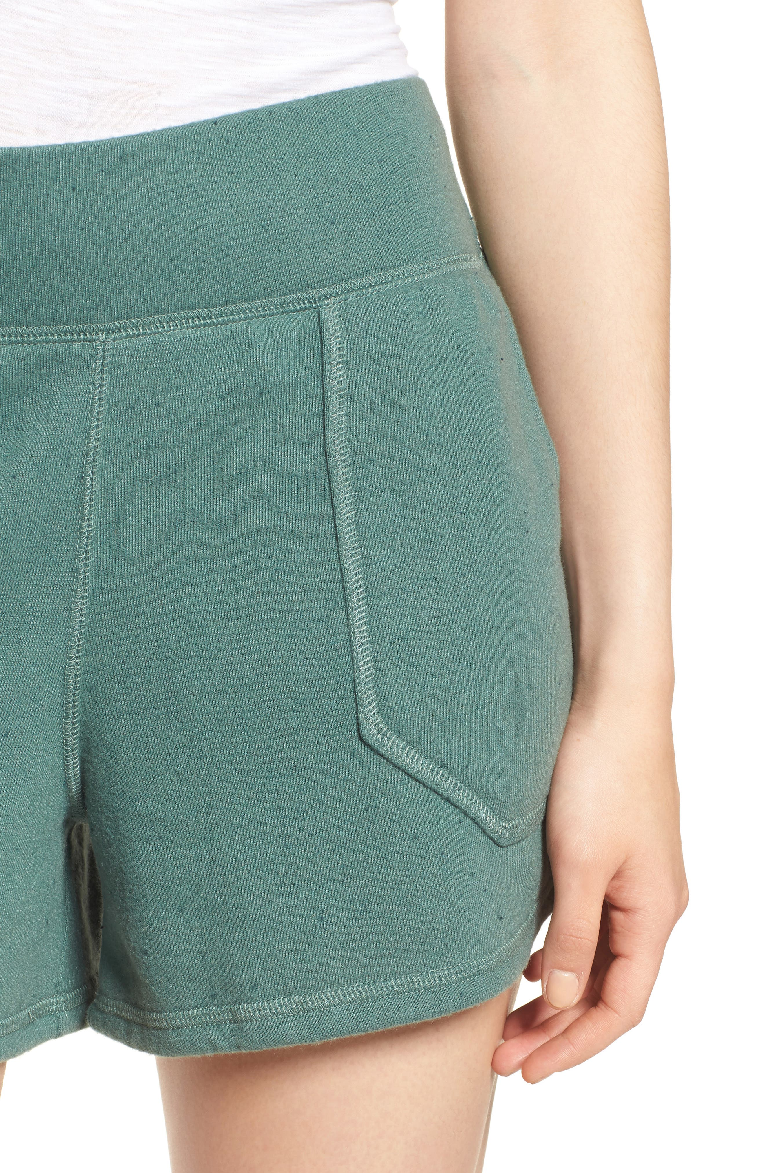 Off-Duty French Terry Shorts,                             Alternate thumbnail 19, color,