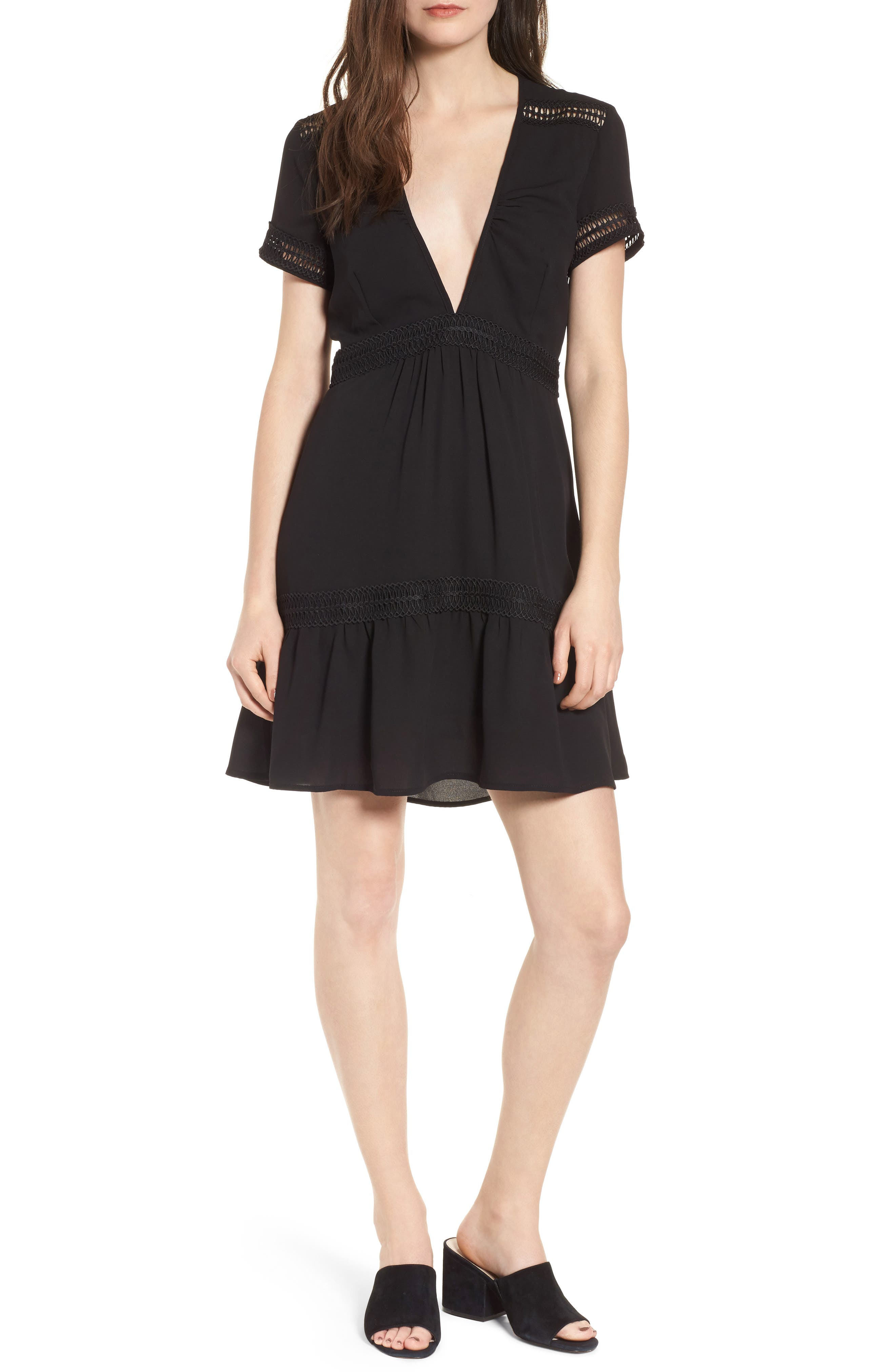 Take Hold Tiered Dress,                         Main,                         color, 001