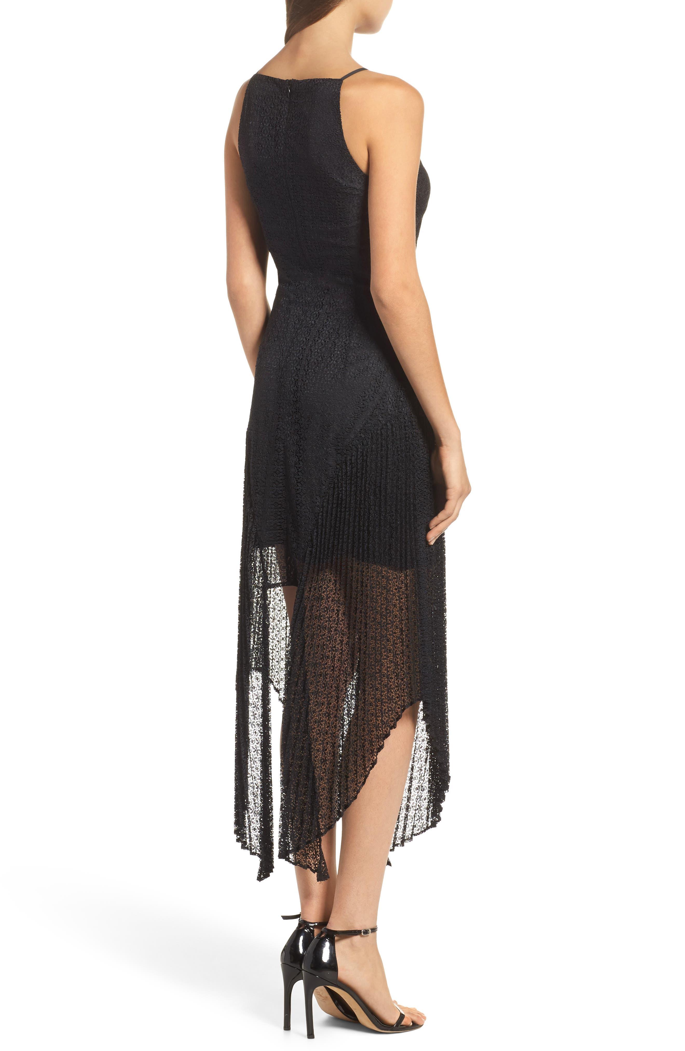Ignite Lace Midi Dress,                             Alternate thumbnail 2, color,                             001