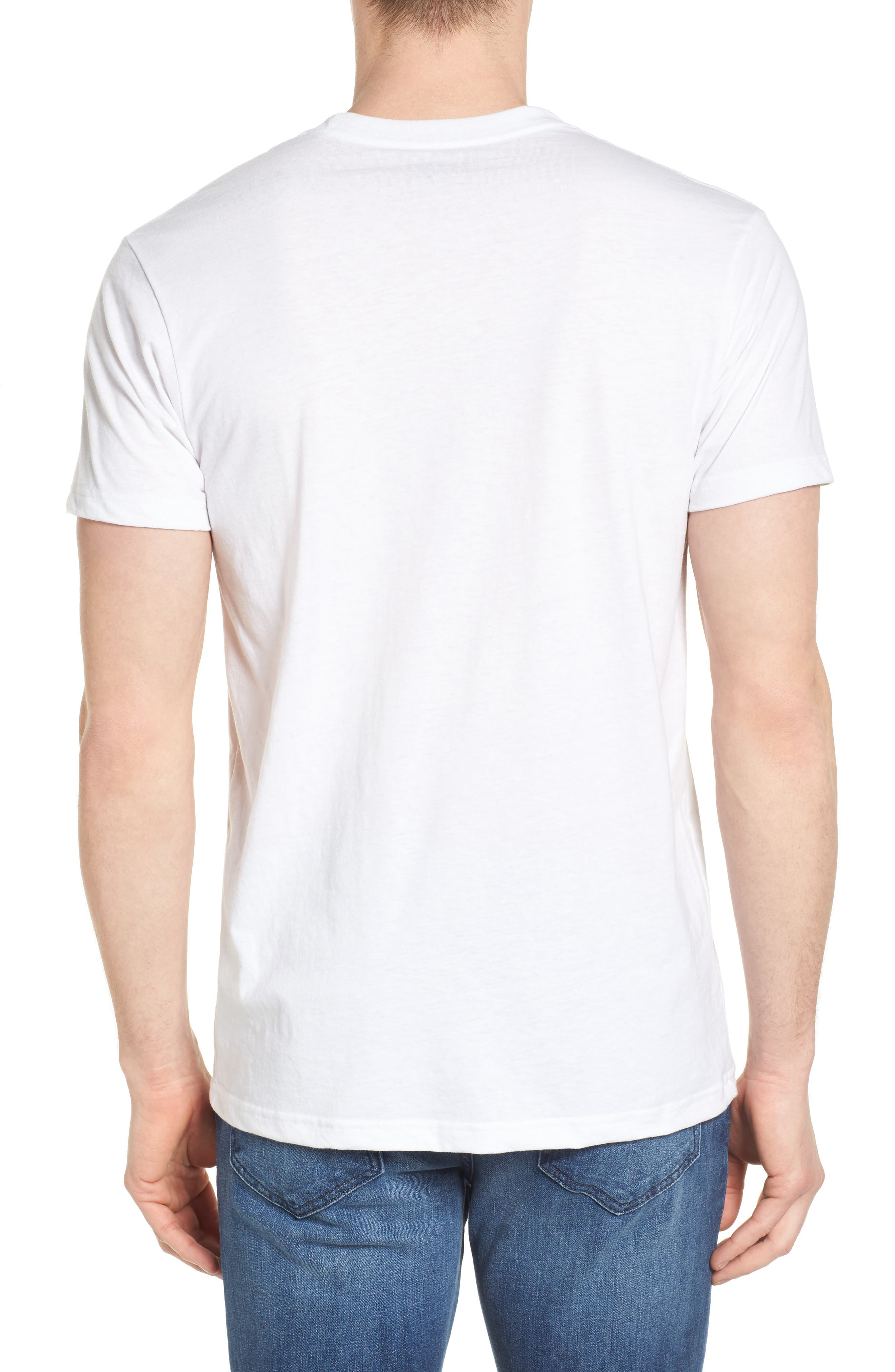 'Fitz Roy Crest' Slim Fit Organic Cotton Blend T-Shirt,                             Alternate thumbnail 11, color,