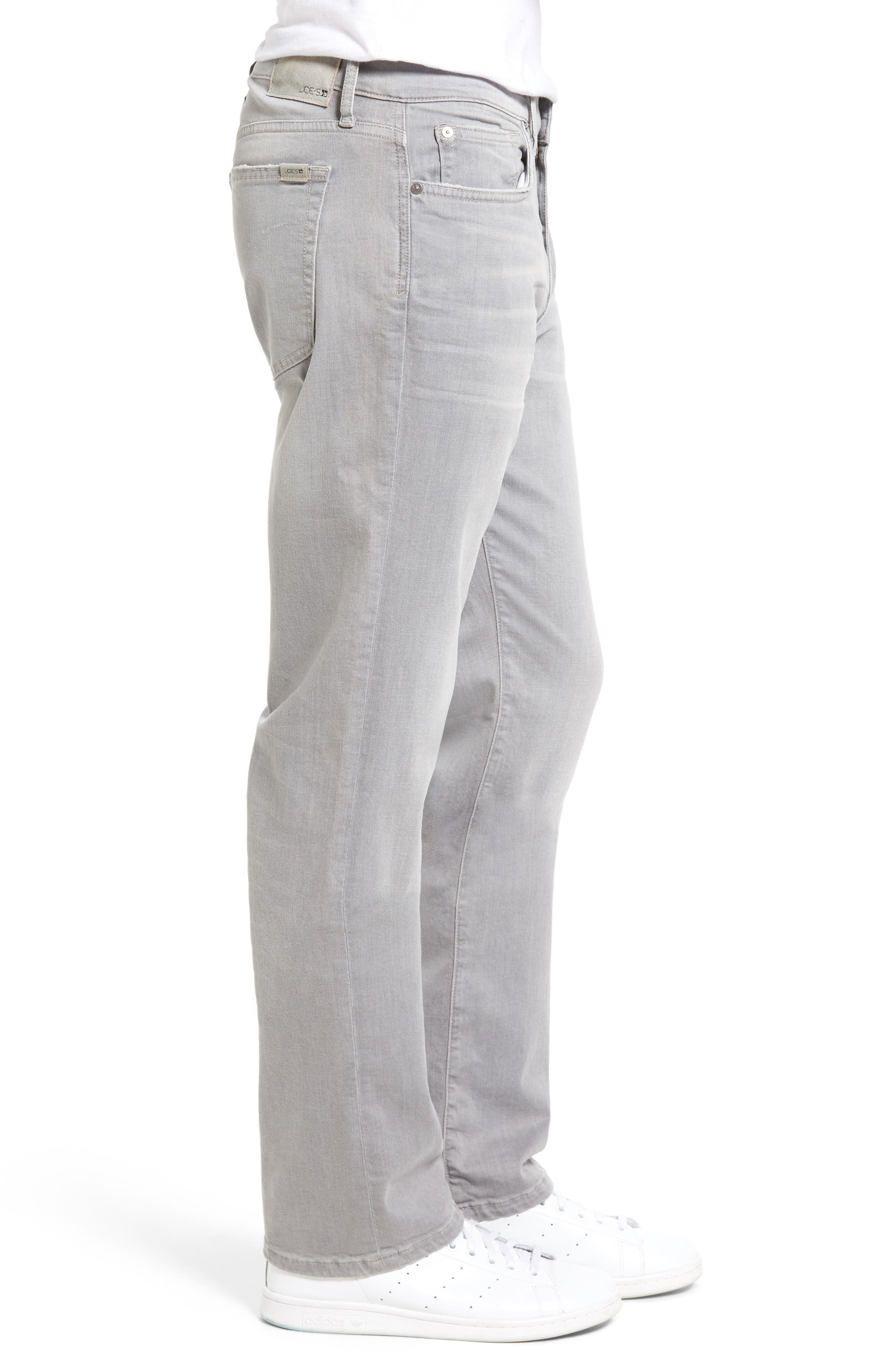 Classic Straight Leg Jeans,                             Alternate thumbnail 3, color,                             050