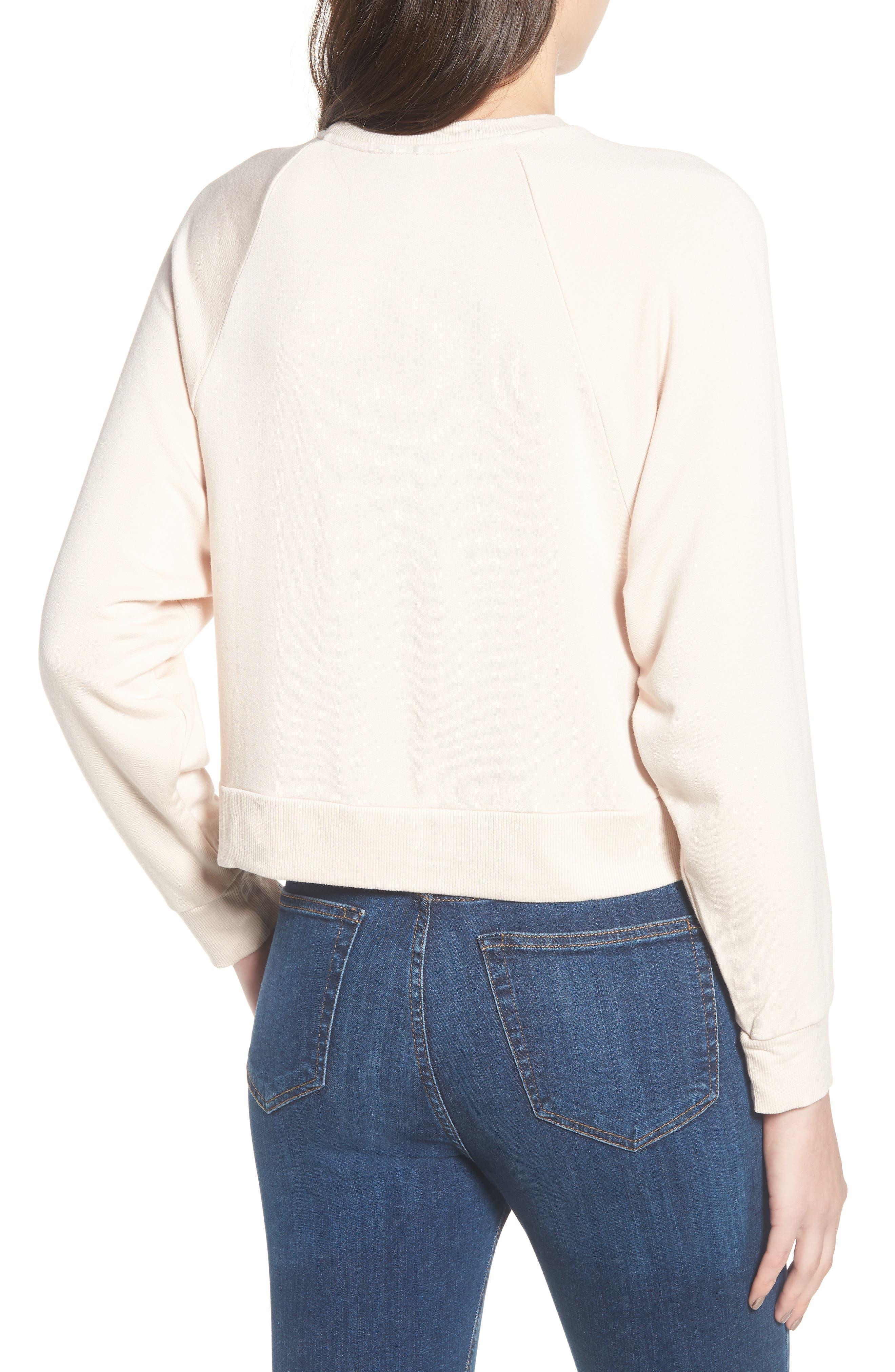 Raglan Sweatshirt,                             Alternate thumbnail 2, color,                             250