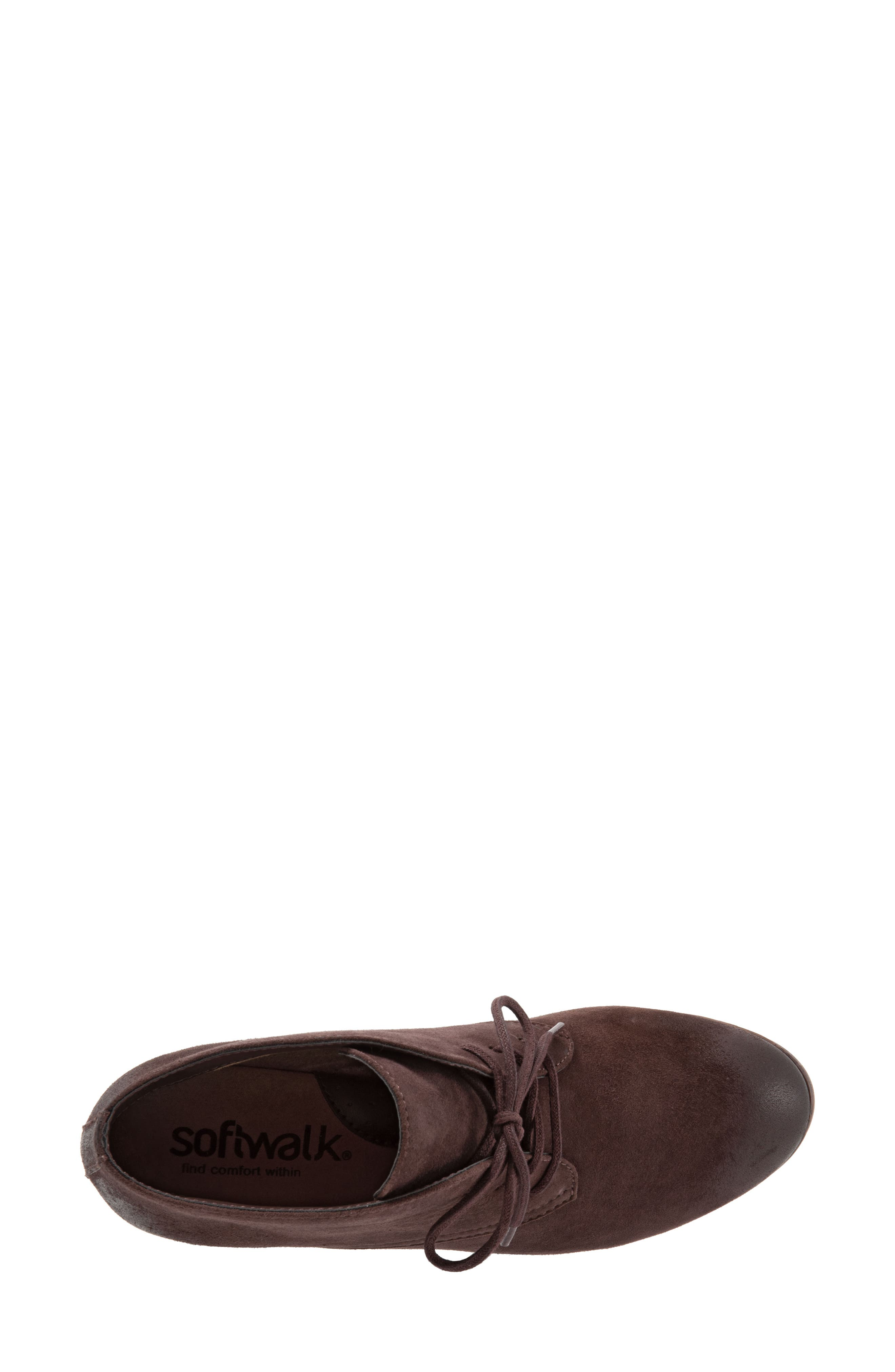 'Ramsey' Chukka Boot,                             Alternate thumbnail 5, color,                             DARK BROWN LEATHER