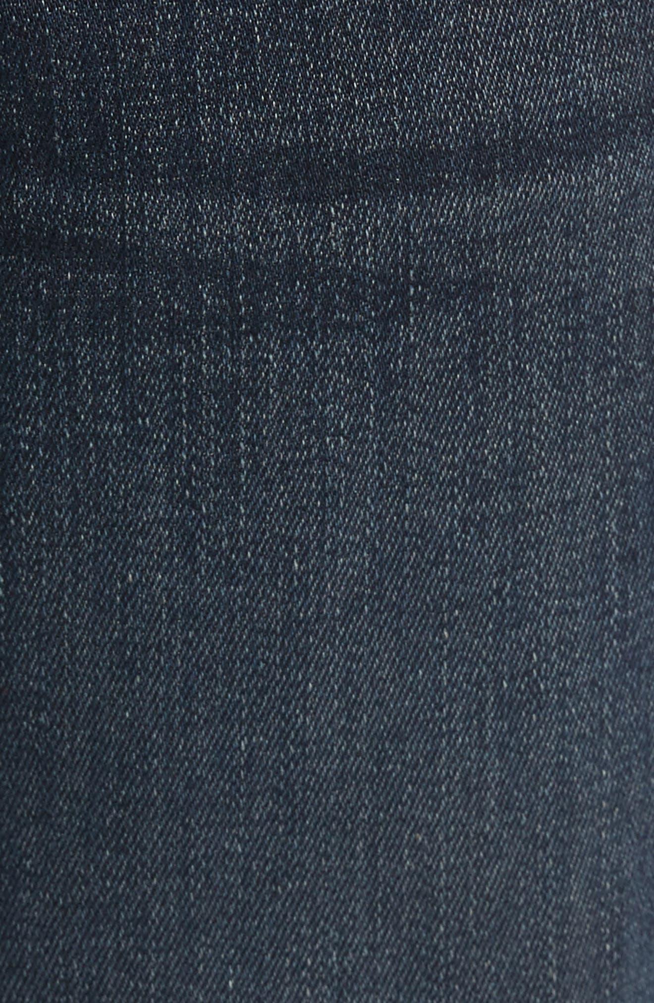 Adrien Slim Fit Jeans,                             Alternate thumbnail 5, color,