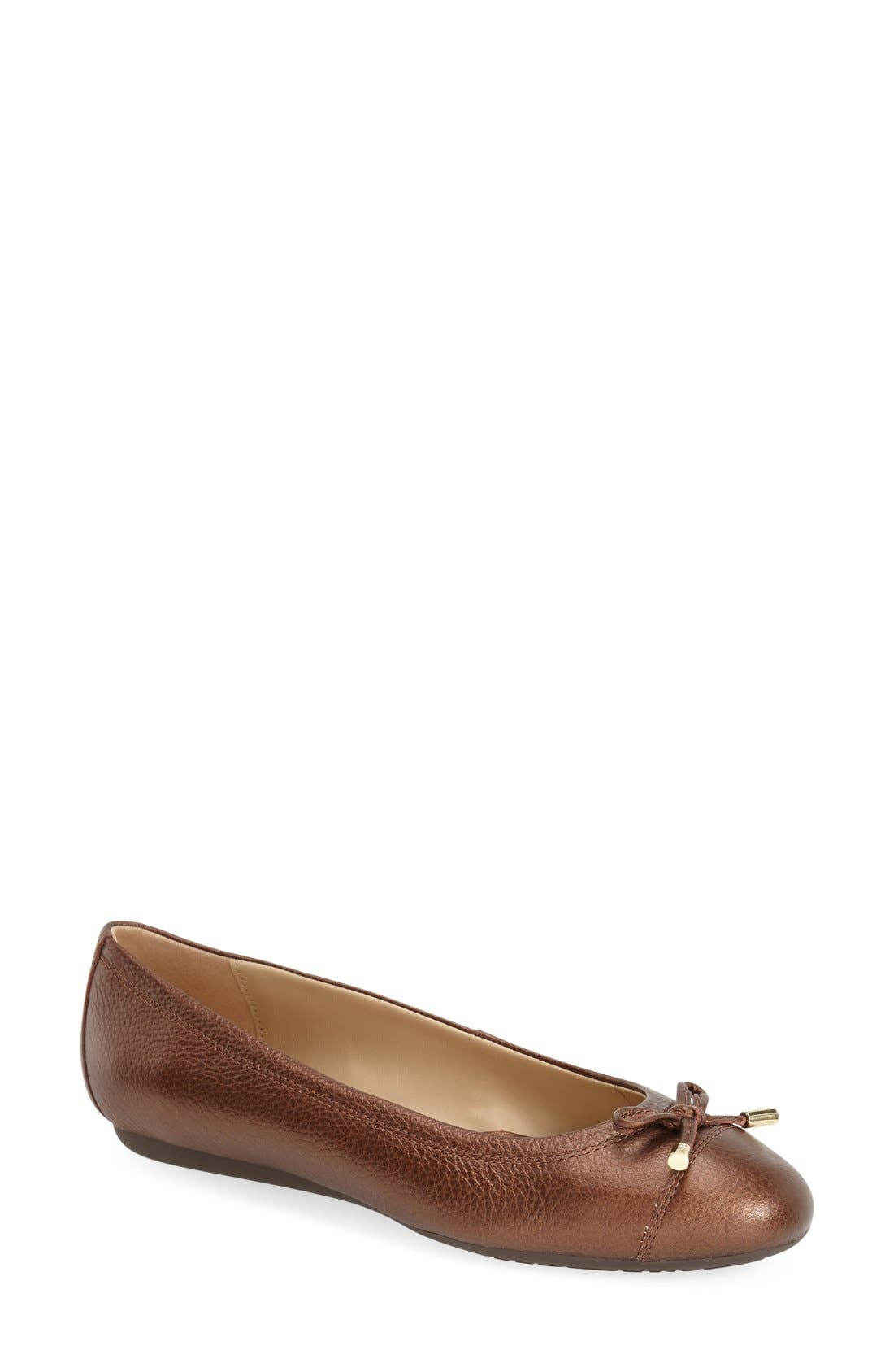 'Lola 16' Cap Toe Ballet Flat,                             Main thumbnail 3, color,