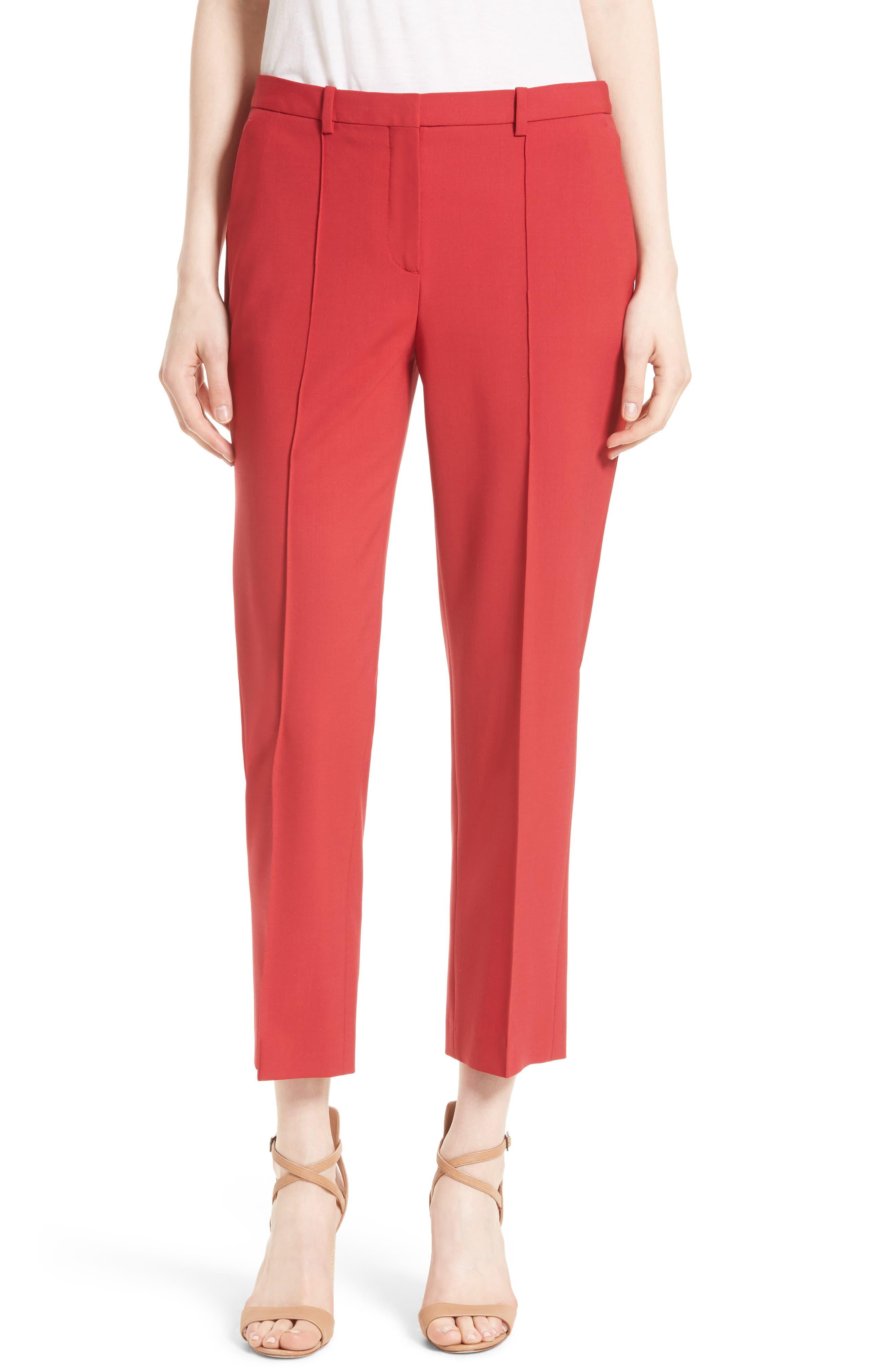 Hartsdale Good Wool Crop Pants,                             Main thumbnail 3, color,