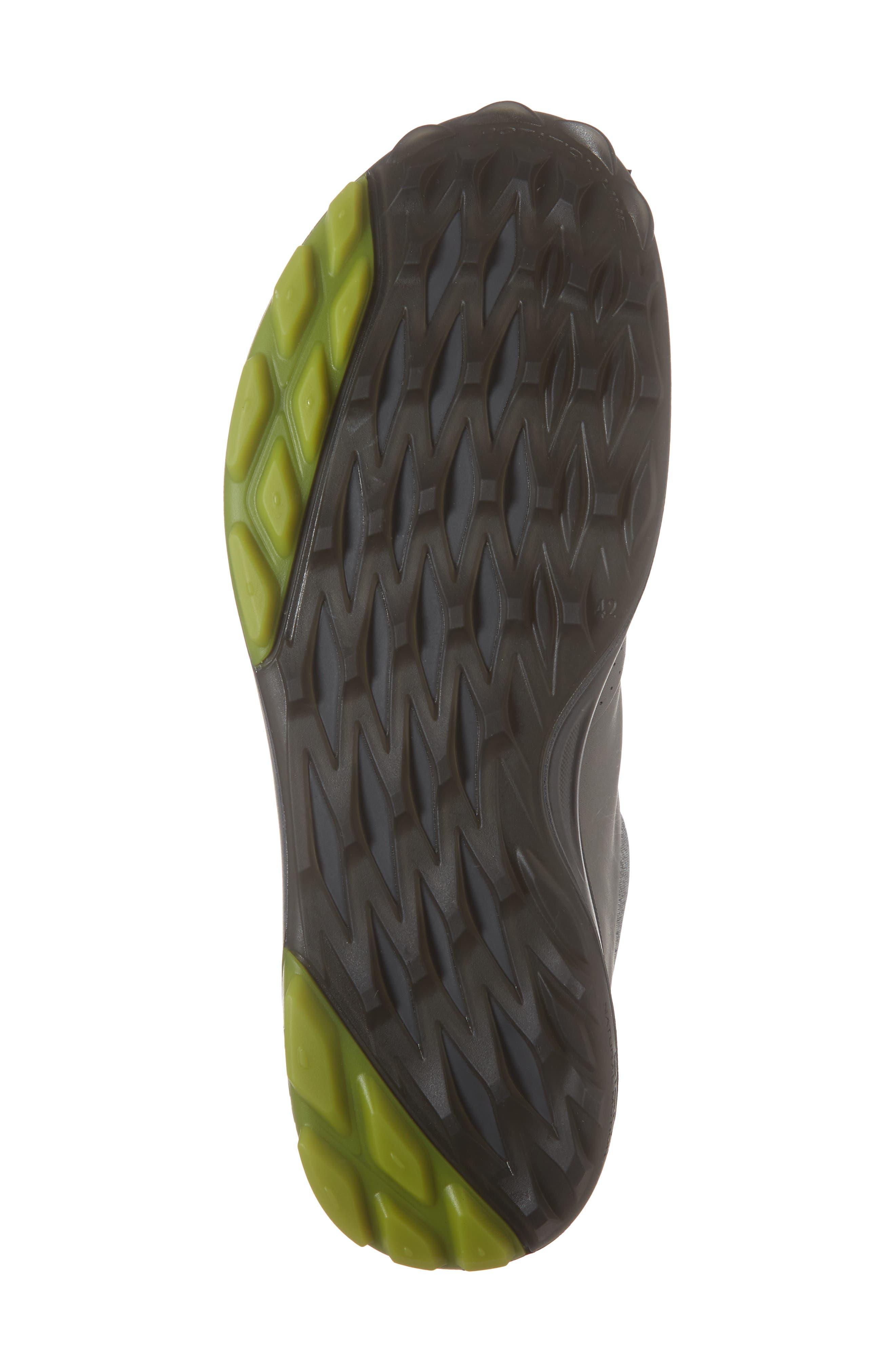 ECCO,                             BIOM Hybrid 3 Gore-Tex<sup>®</sup> Golf Shoe,                             Alternate thumbnail 6, color,                             WILD DOVE/ KIWI LEATHER