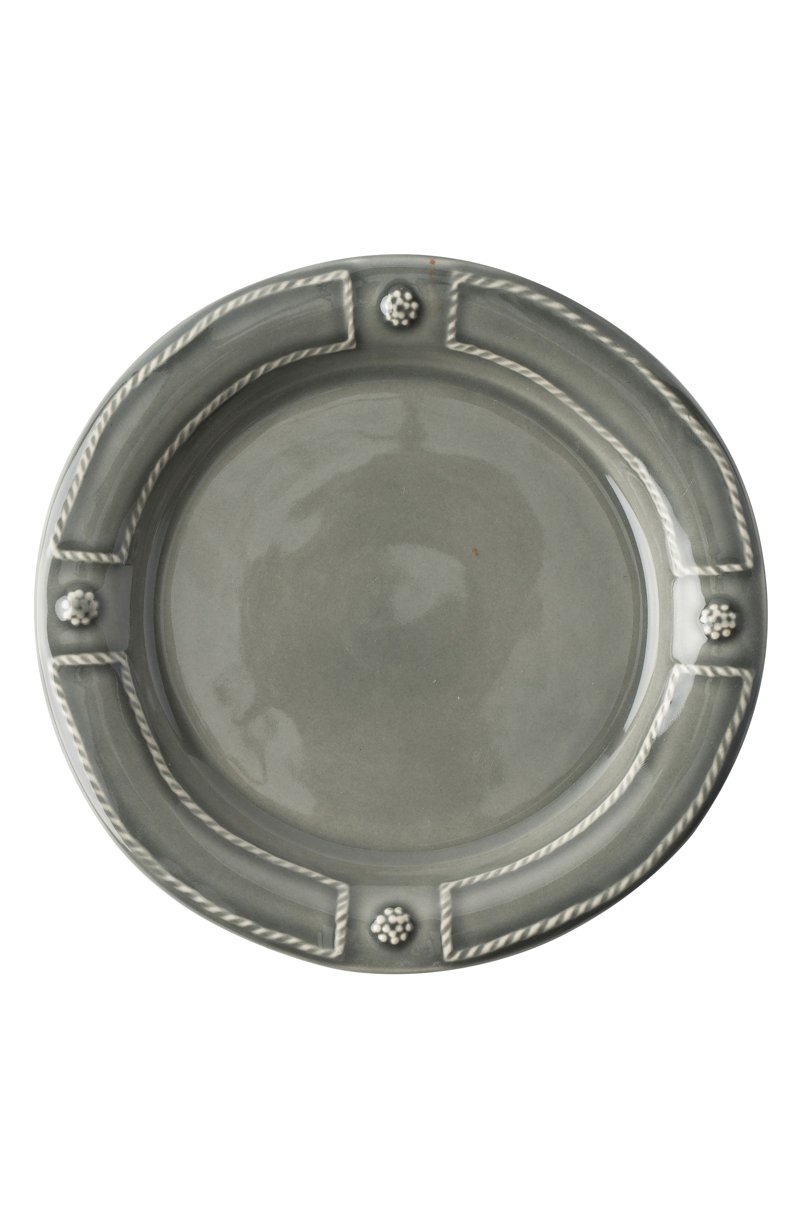 Berry & Thread French Panel Side Plate,                             Main thumbnail 1, color,                             STONE GREY