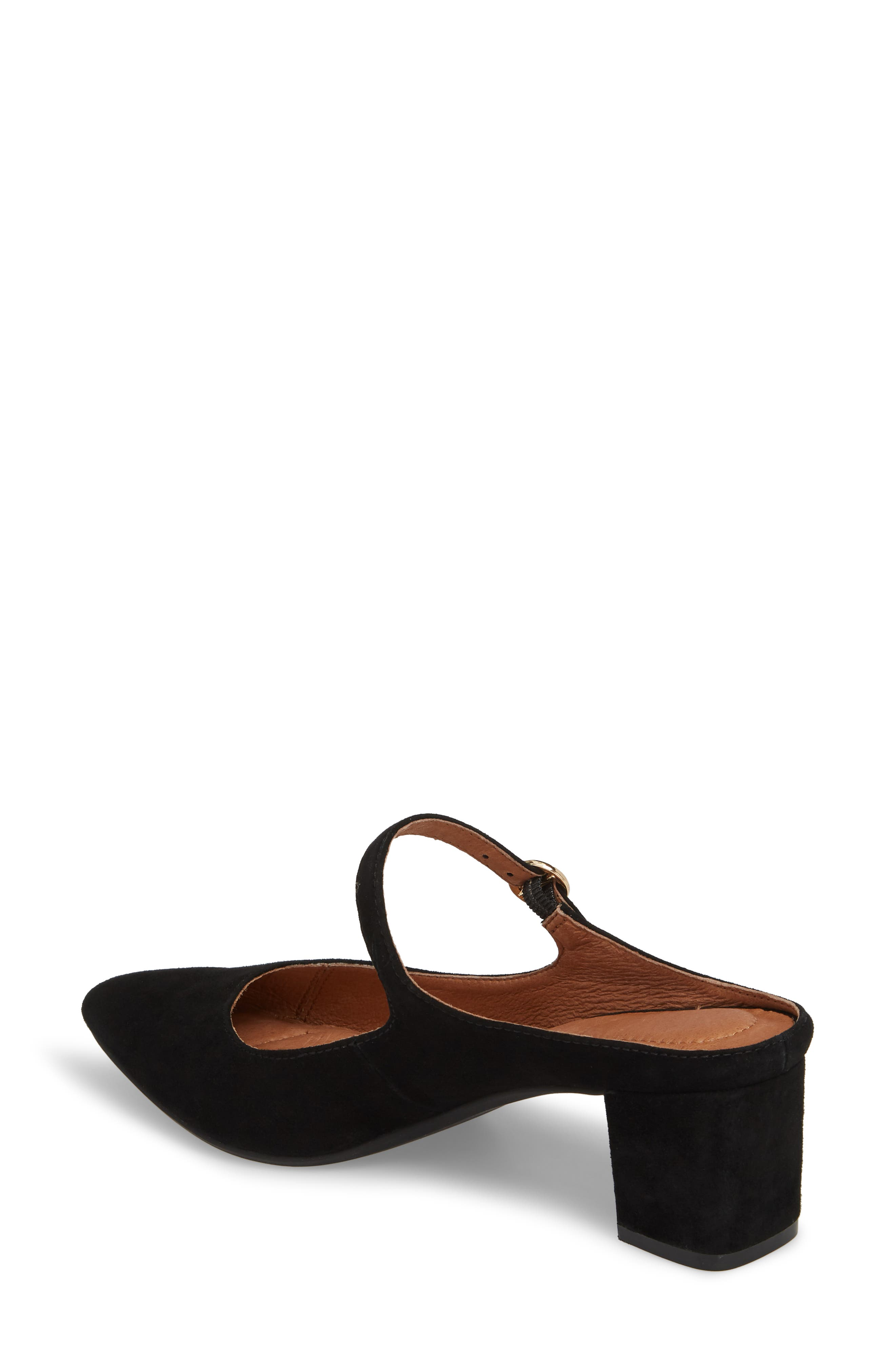 Barletta Mary Jane Mule,                             Alternate thumbnail 2, color,                             BLACK SUEDE