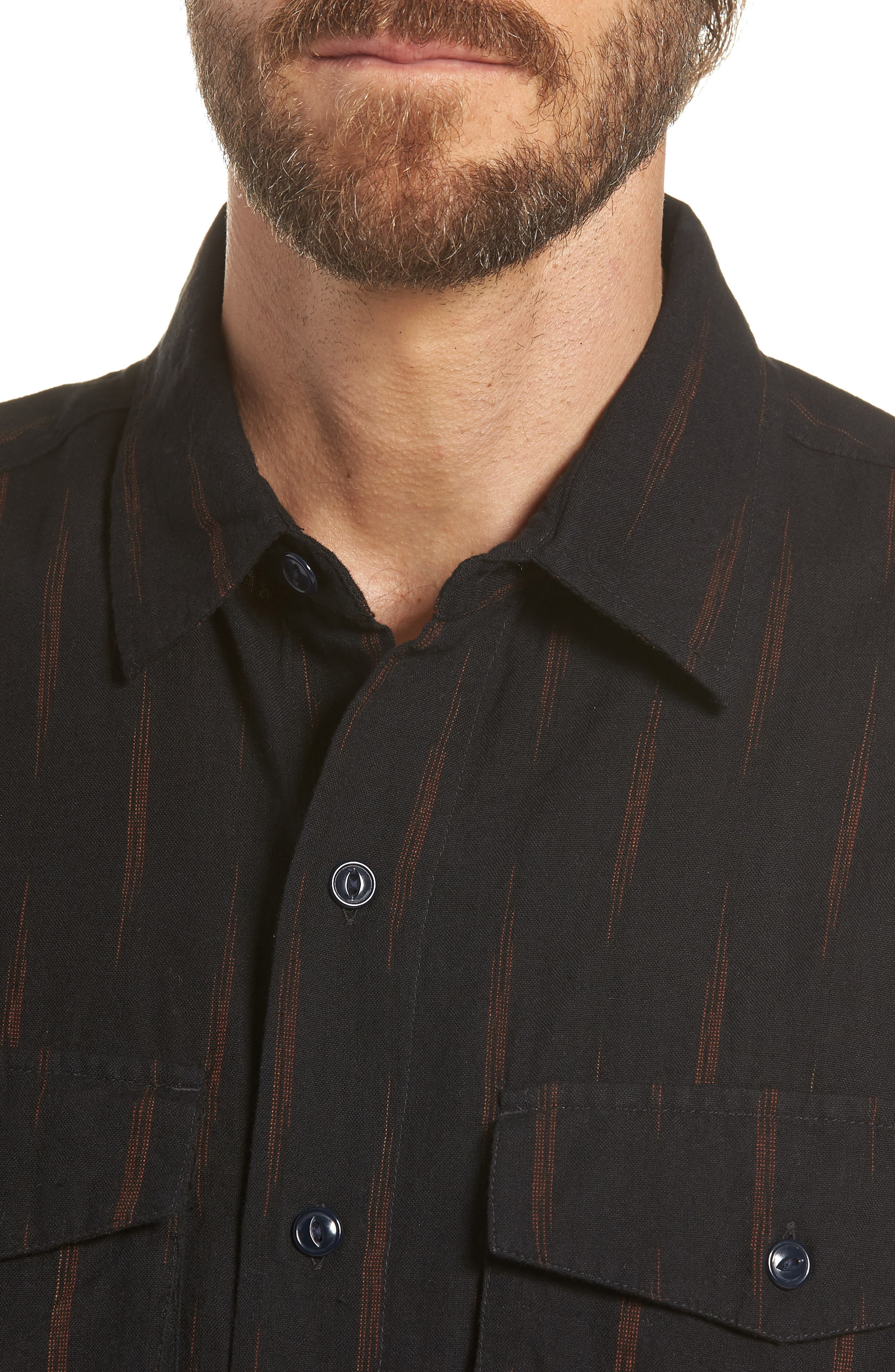 Limited Edition Slim Fit Short Sleeve Sport Shirt,                             Alternate thumbnail 2, color,