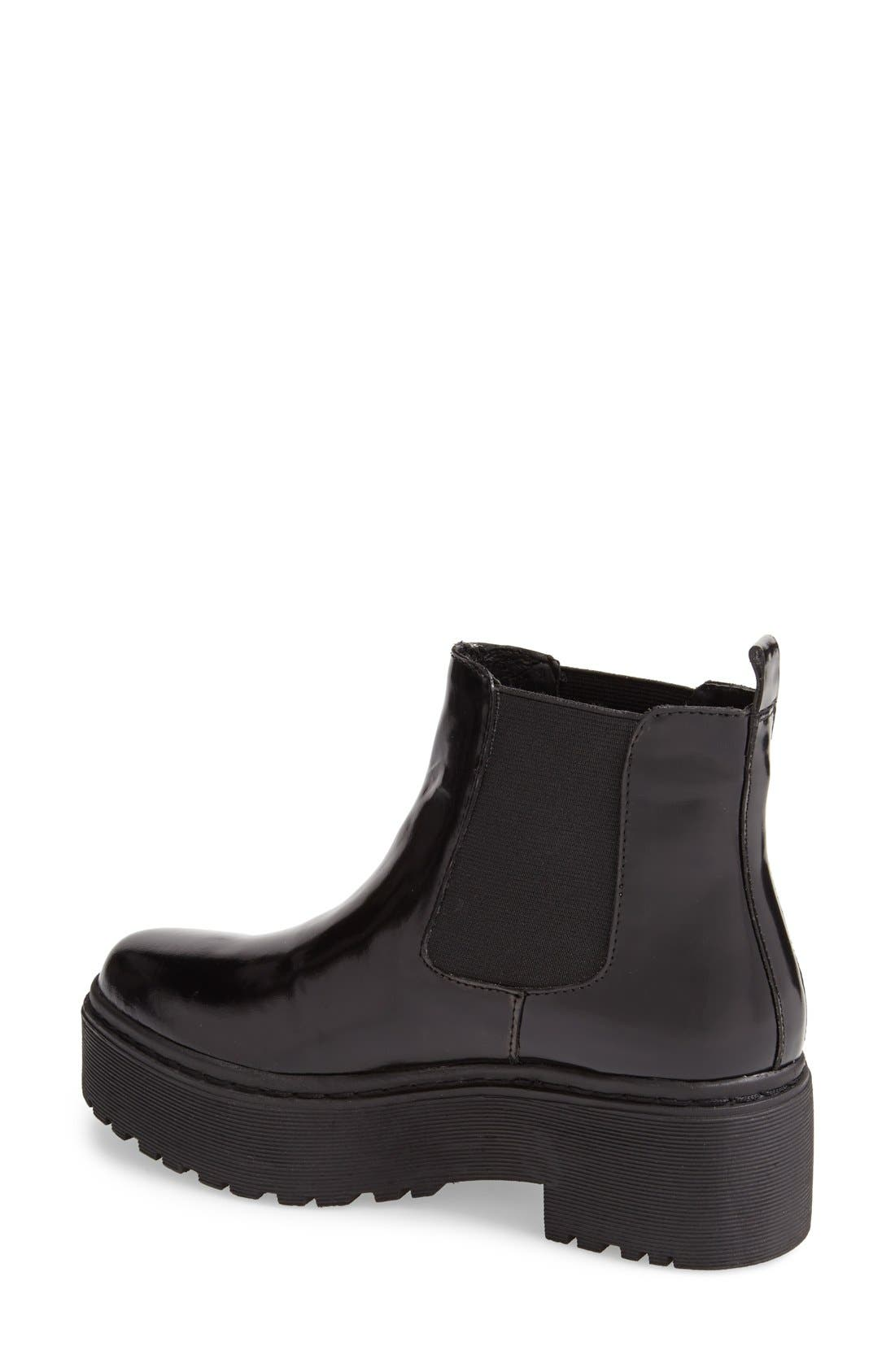 JEFFREY CAMPBELL,                             'Universal' Chelsea Boot,                             Alternate thumbnail 3, color,                             001