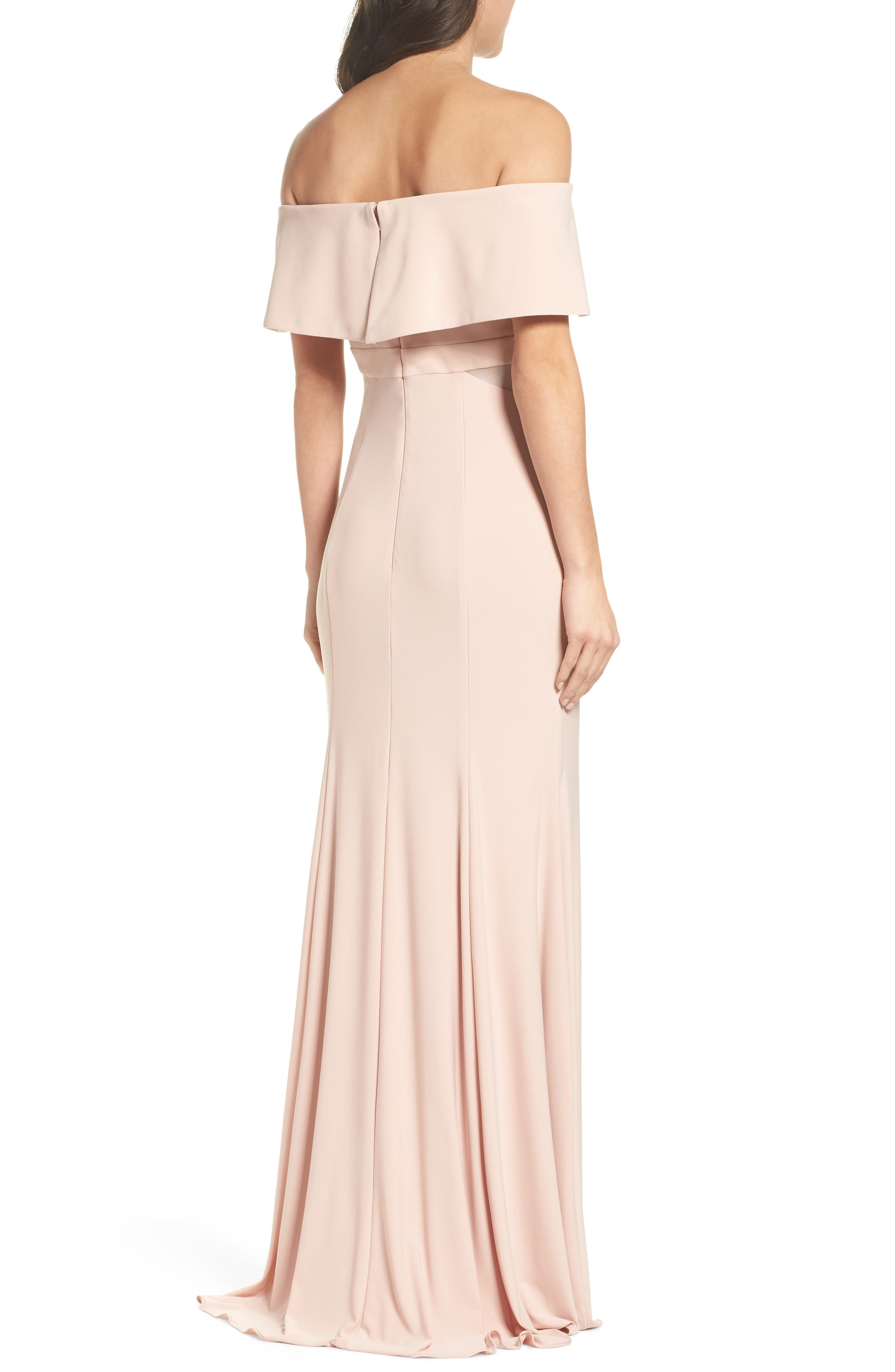 Jersey Popover Gown,                             Alternate thumbnail 2, color,                             682