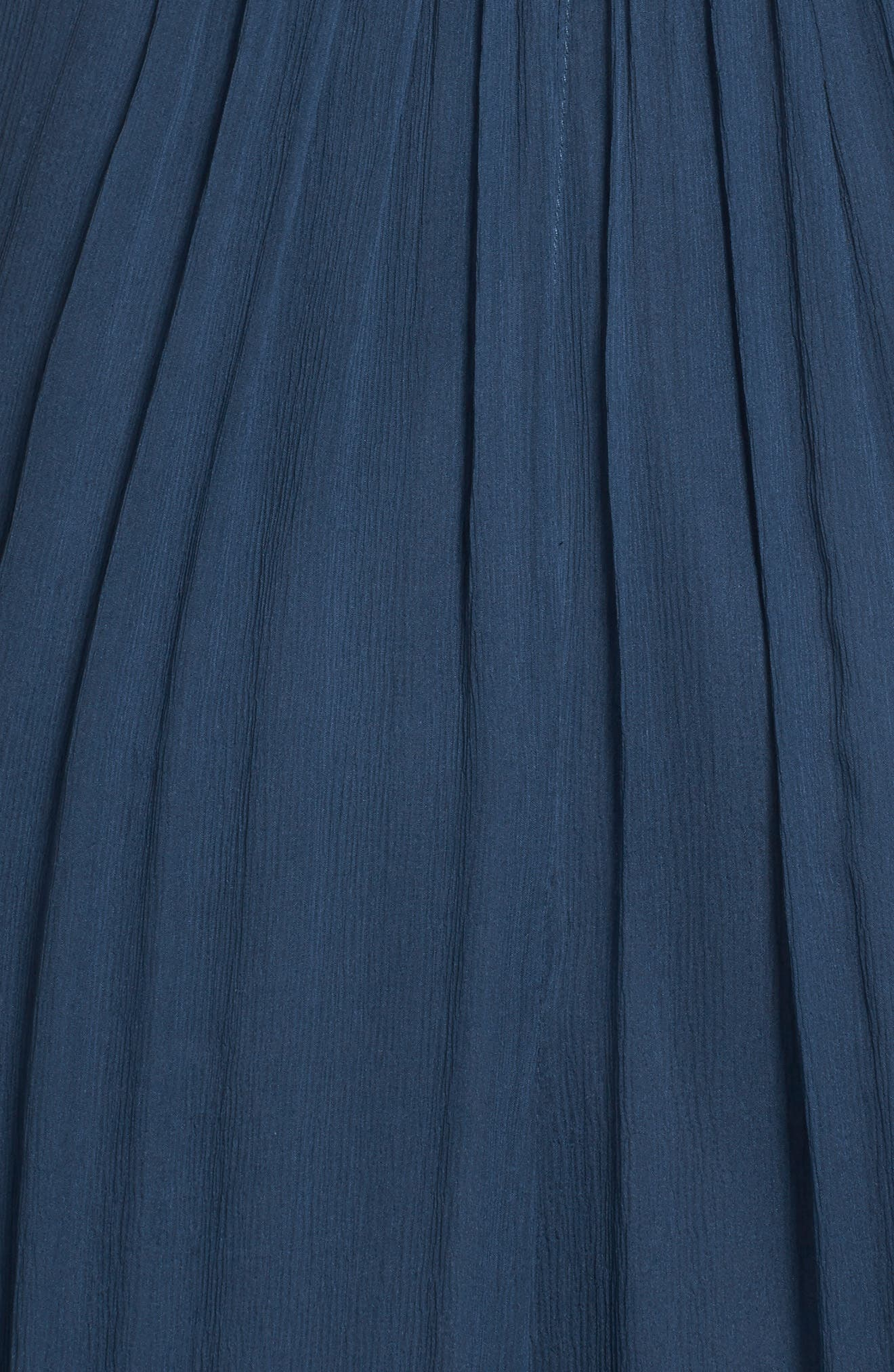 Convertible Crinkled Silk Chiffon Gown,                             Alternate thumbnail 21, color,