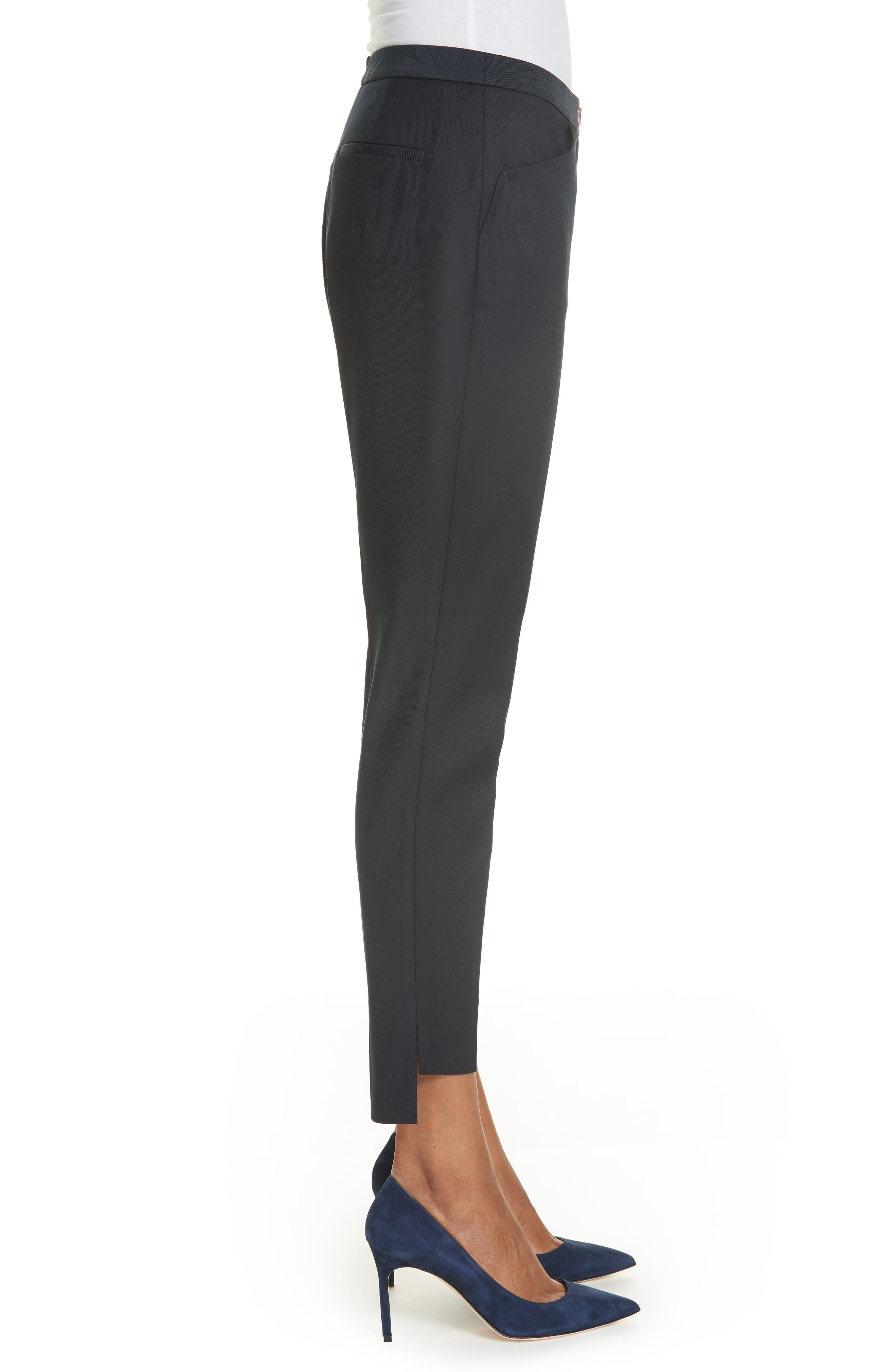 TED BAKER LONDON,                             Ted Working Title Rivaat Skinny Trousers,                             Alternate thumbnail 3, color,                             402
