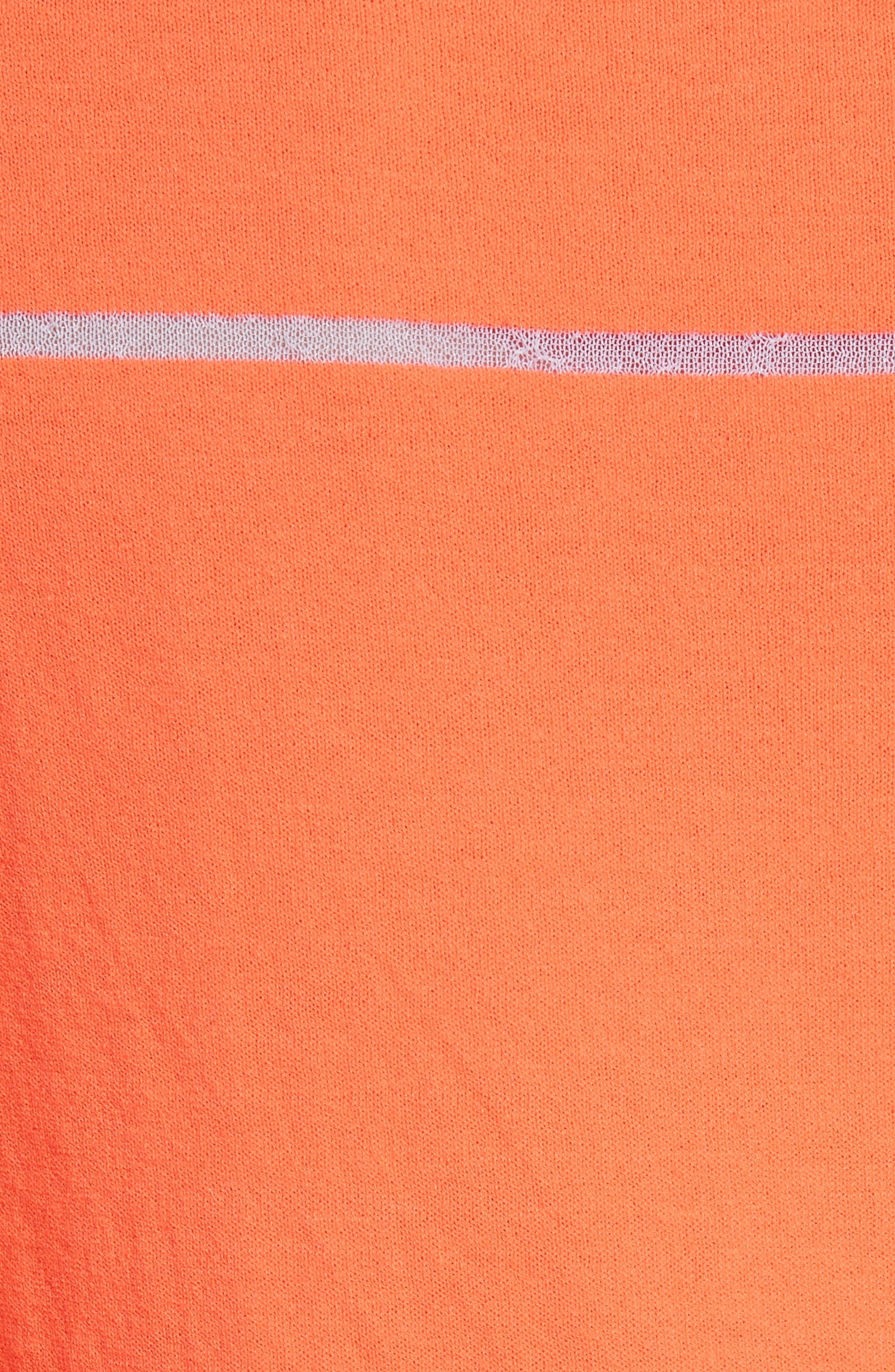 Illusion Stripe Crewneck Sweater,                             Alternate thumbnail 5, color,                             850