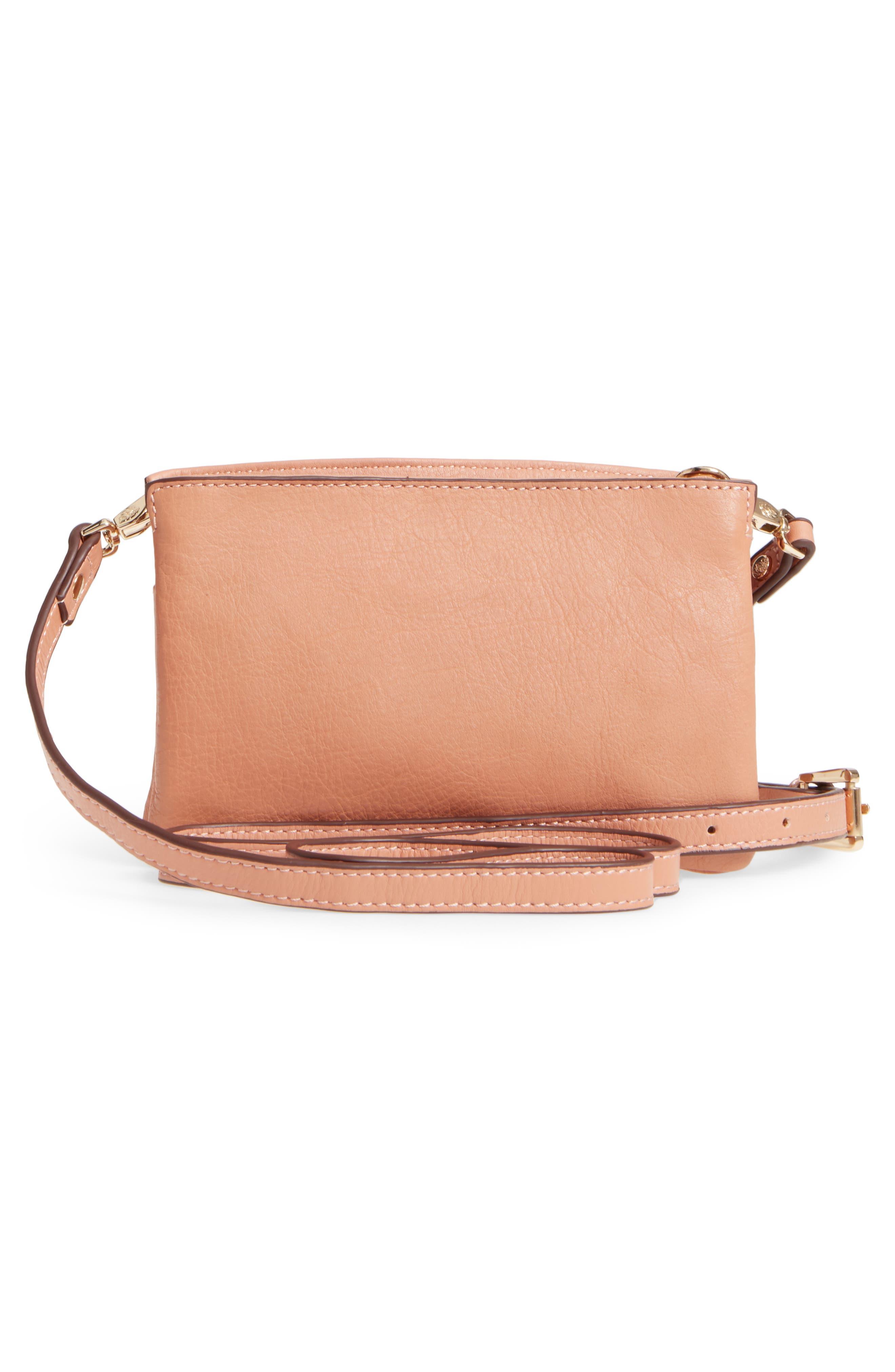 Katerini Leather Crossbody Wallet,                             Alternate thumbnail 3, color,                             650