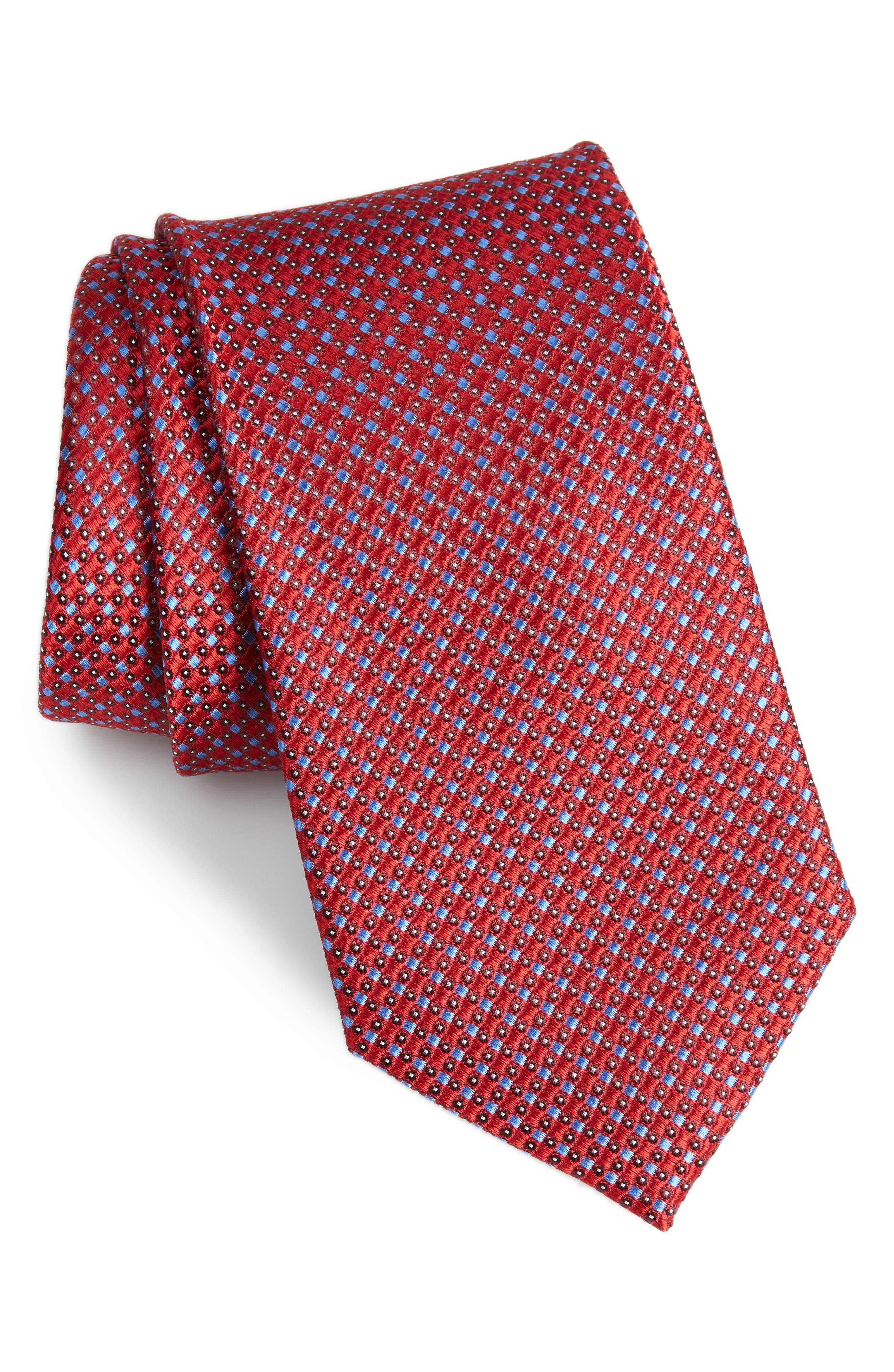 Bagni Check Tie,                             Main thumbnail 2, color,