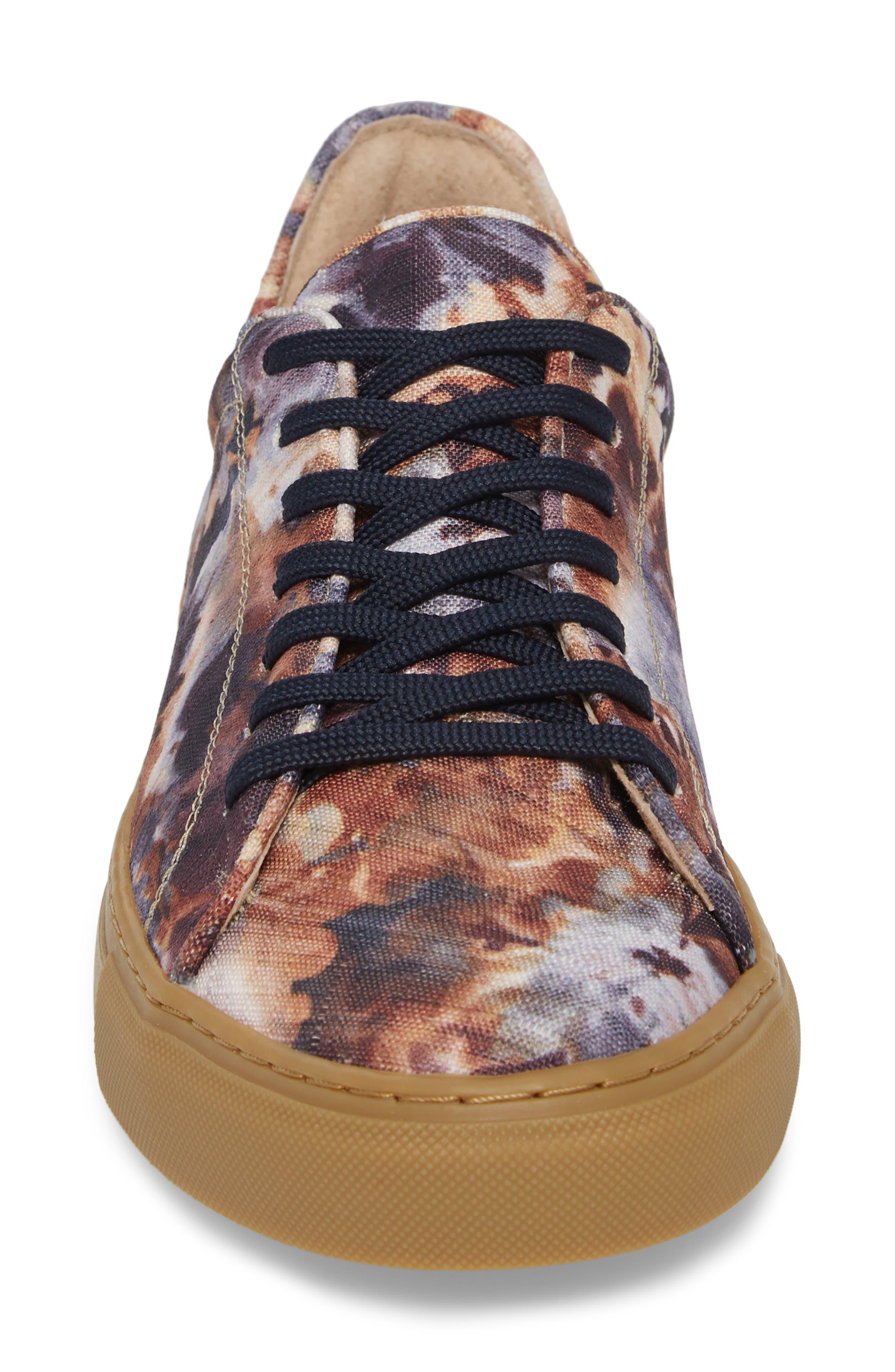 Mason Print Low Top Sneaker,                             Alternate thumbnail 14, color,