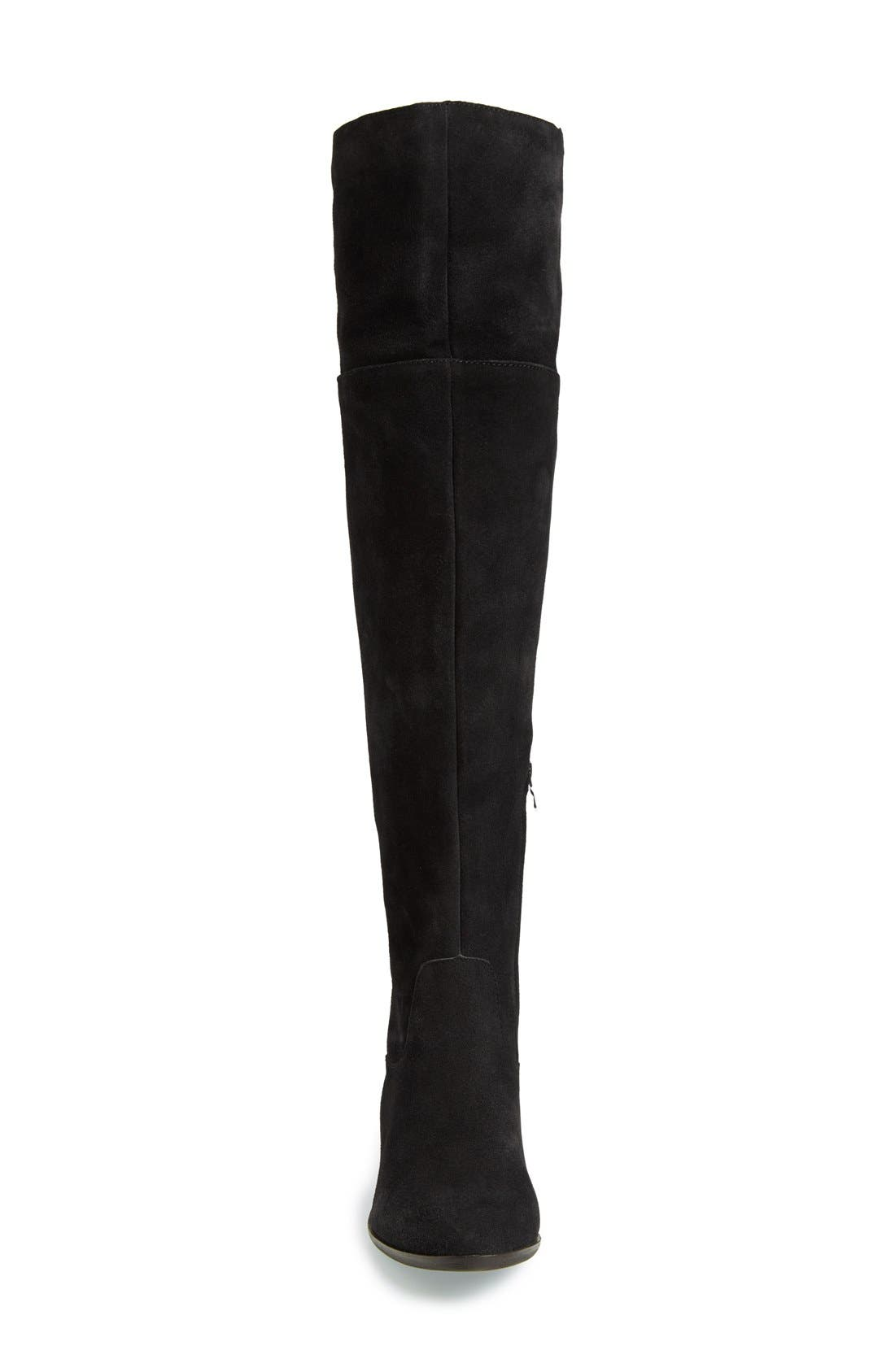 Suede Over the Knee Boot,                             Alternate thumbnail 2, color,                             006