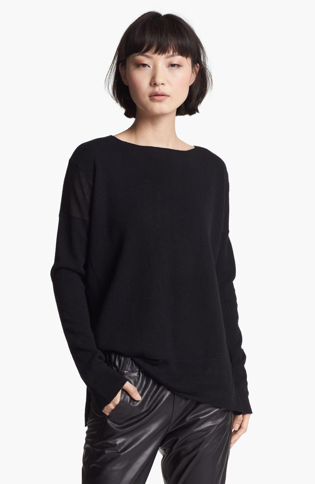 Cashmere Sweater,                             Main thumbnail 1, color,                             001