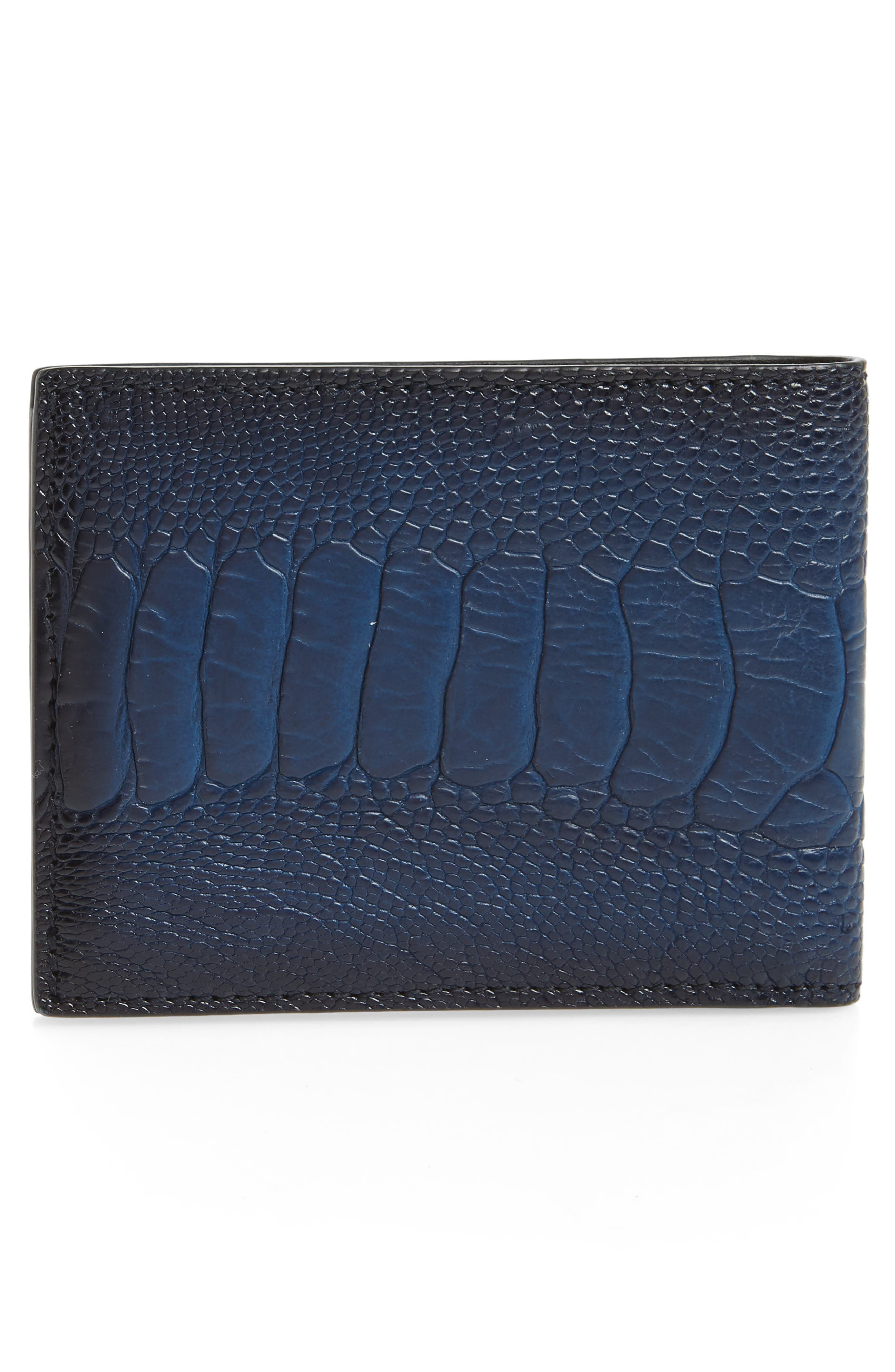Leather Wallet,                             Alternate thumbnail 6, color,
