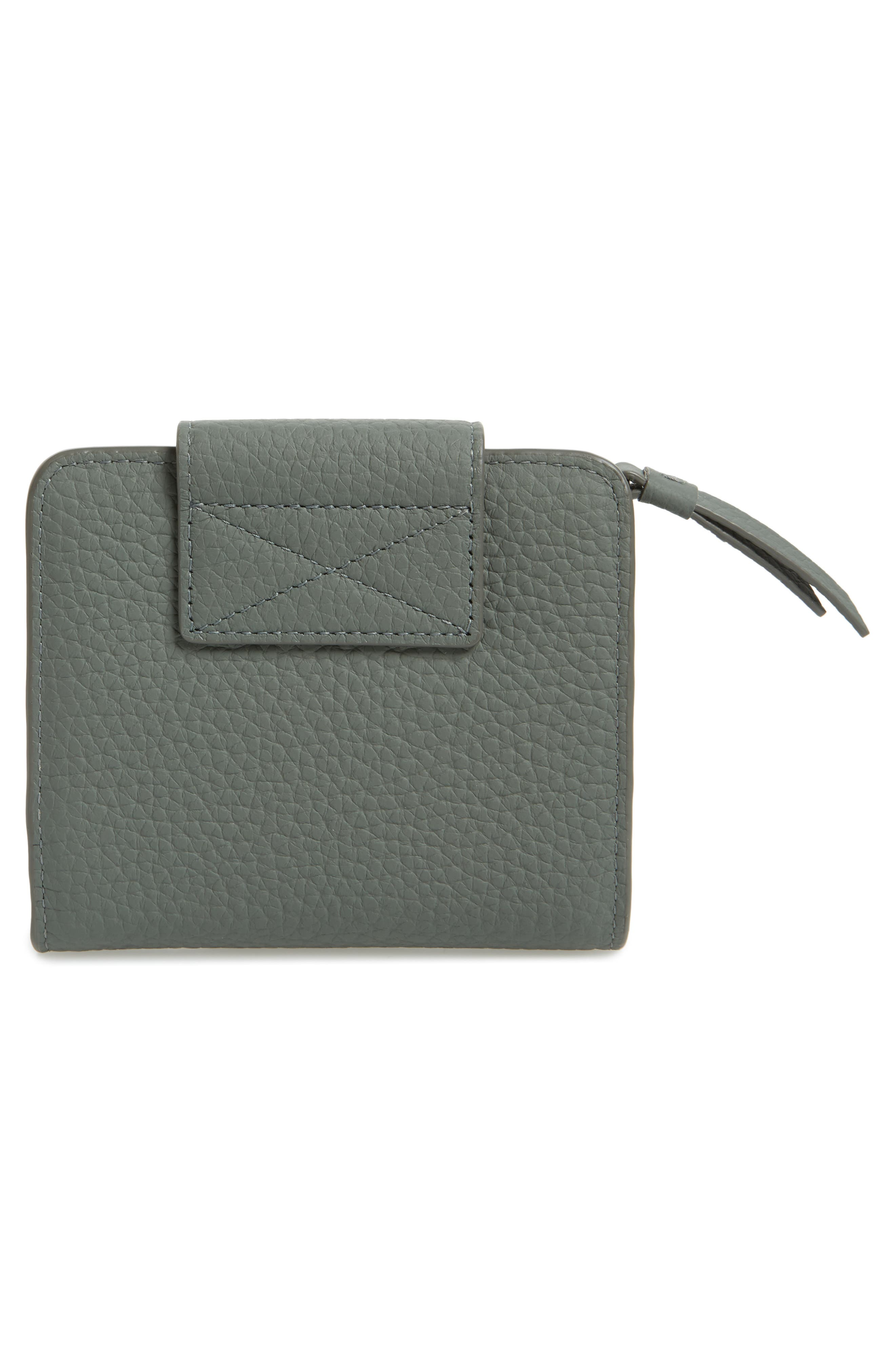 Small Ray Leather Wallet,                             Alternate thumbnail 14, color,