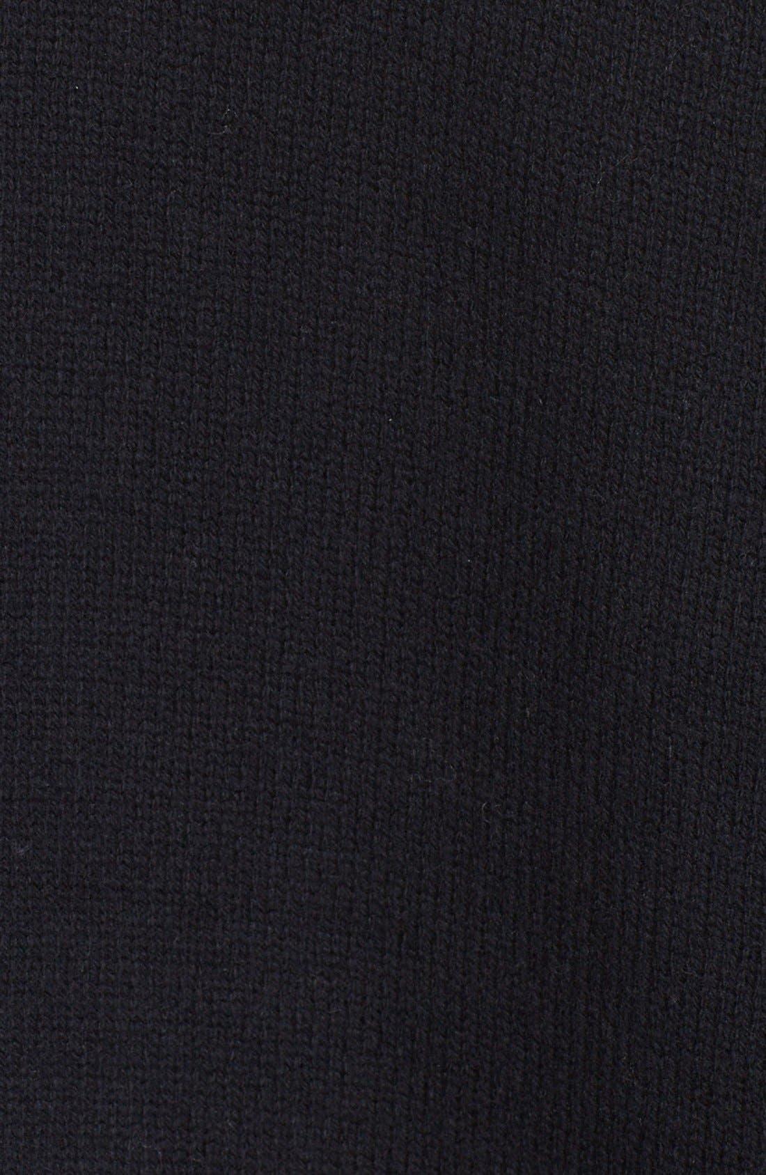 Side Slit Wool & Cashmere Cardigan,                             Alternate thumbnail 2, color,                             001