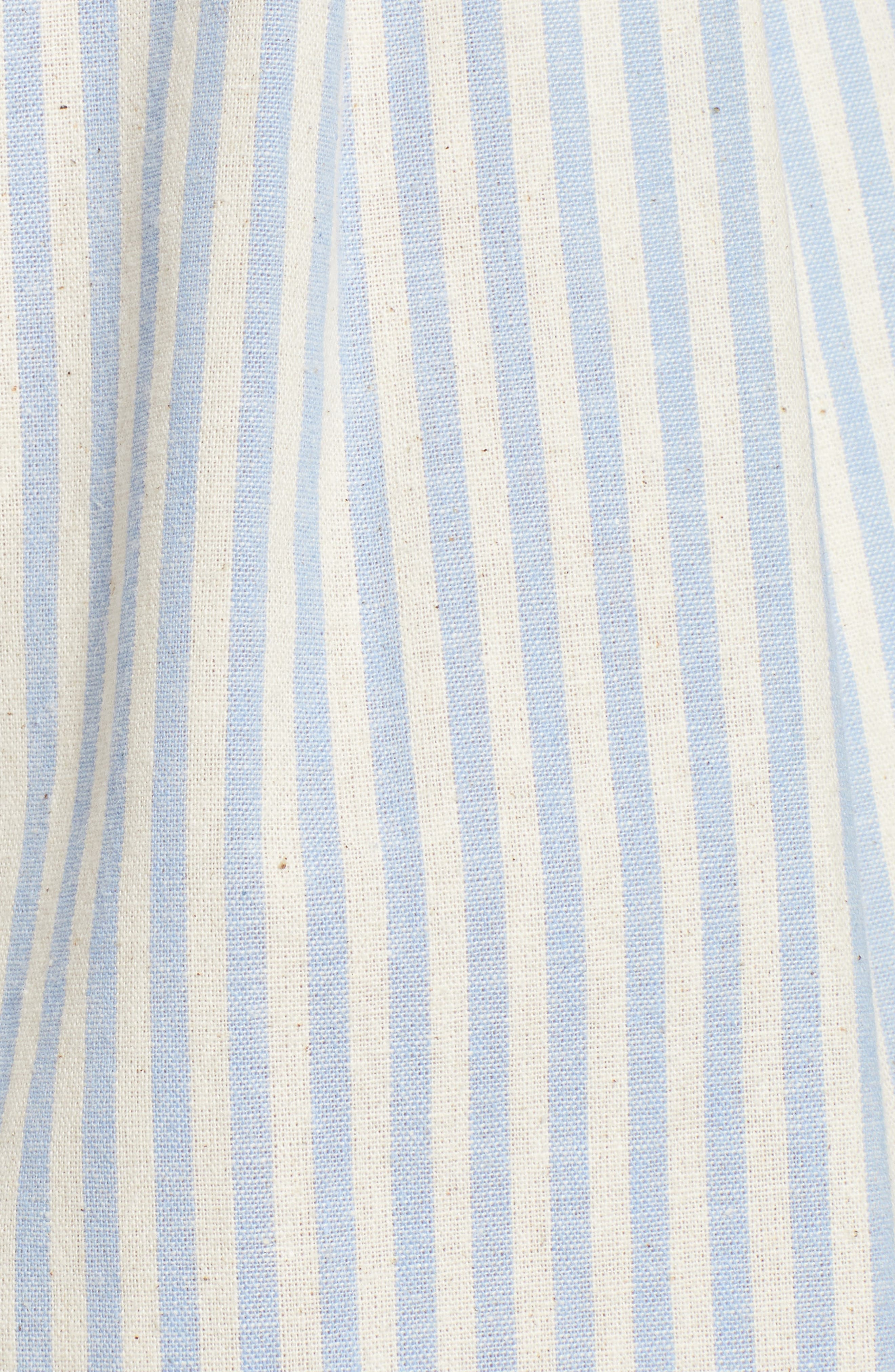 Striped Bermuda Shorts,                             Alternate thumbnail 5, color,                             BLUE