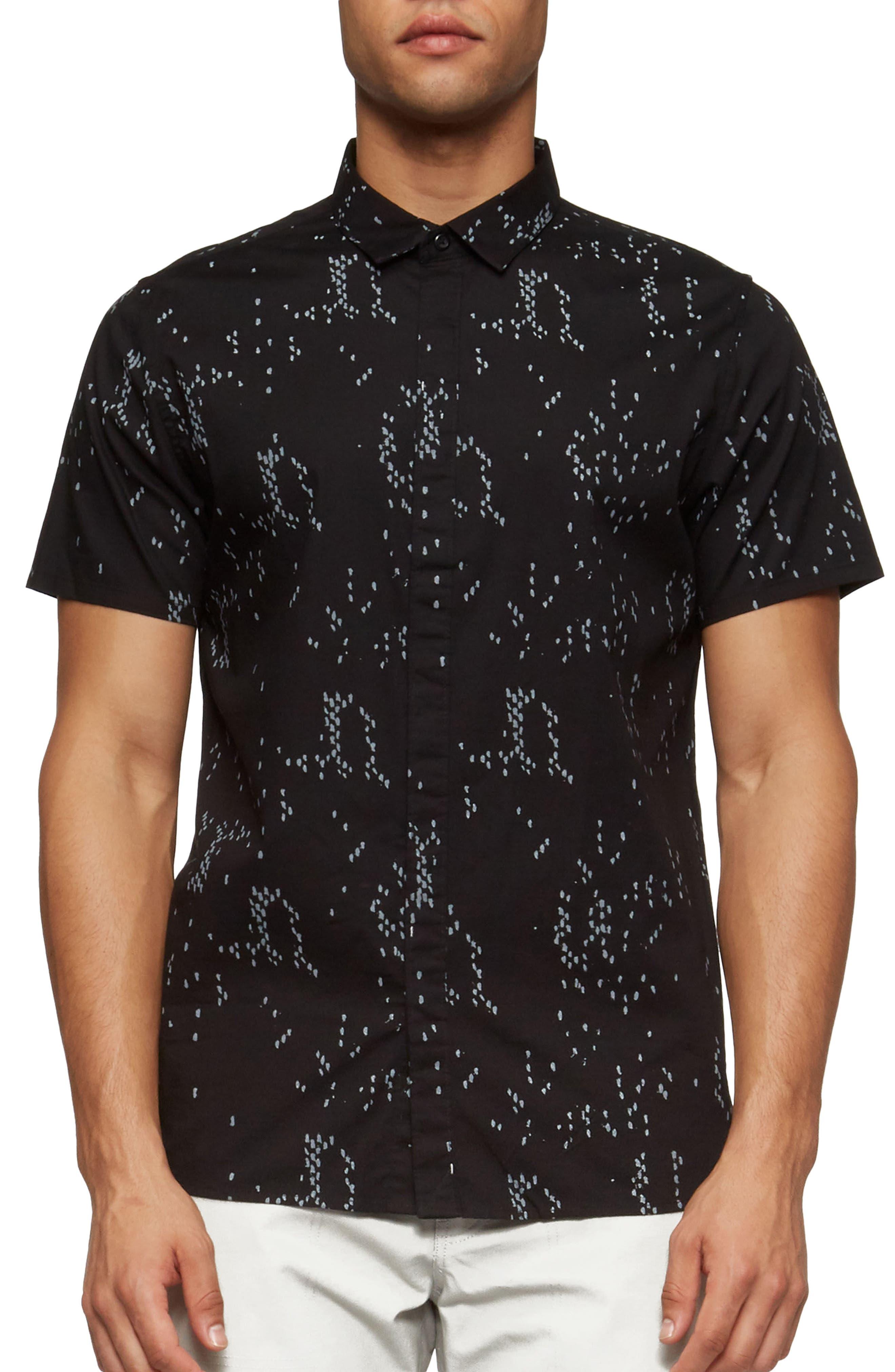 Bowery Short Sleeve Shirt,                             Main thumbnail 1, color,