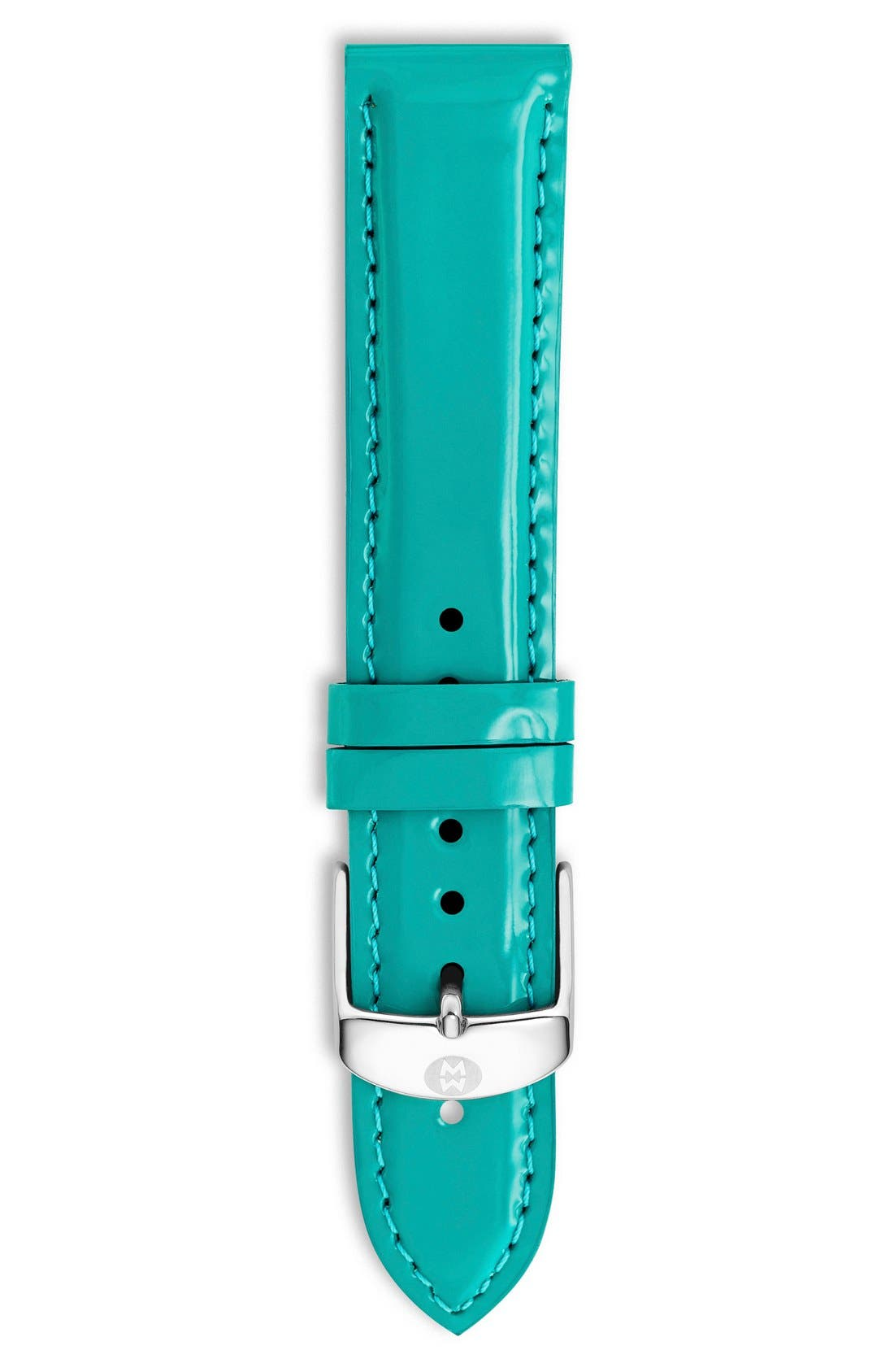 18mm Patent Leather Watch Strap,                             Main thumbnail 14, color,