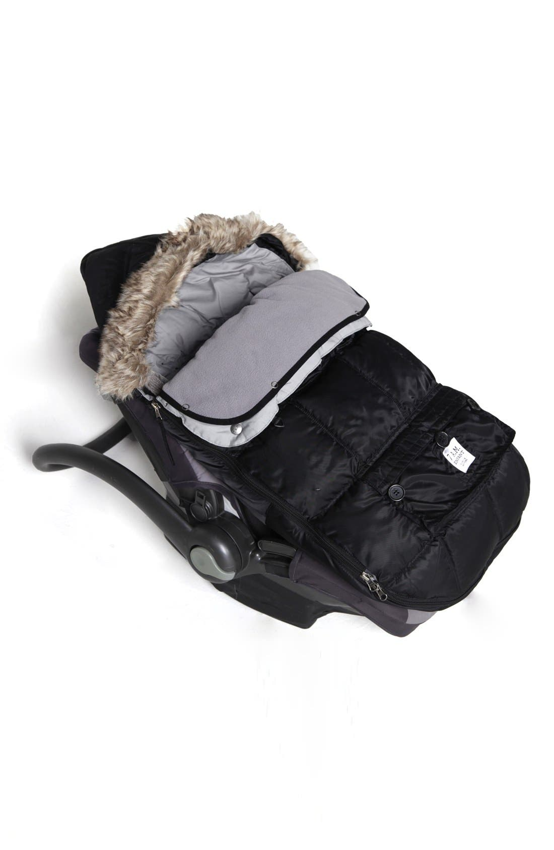 'Le Sac -Igloo'Water Repellent Stroller/Car SeatBunting,                             Alternate thumbnail 2, color,                             001