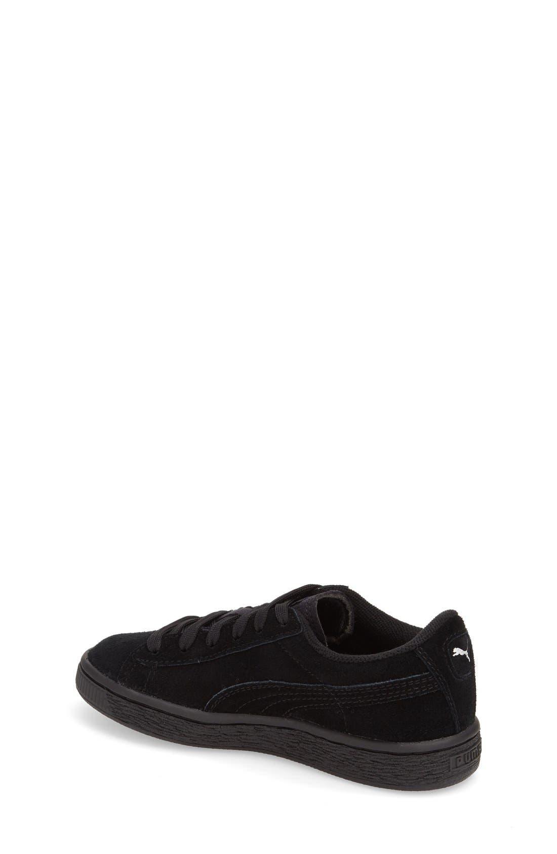 'Suede'Sneaker,                             Alternate thumbnail 4, color,                             001