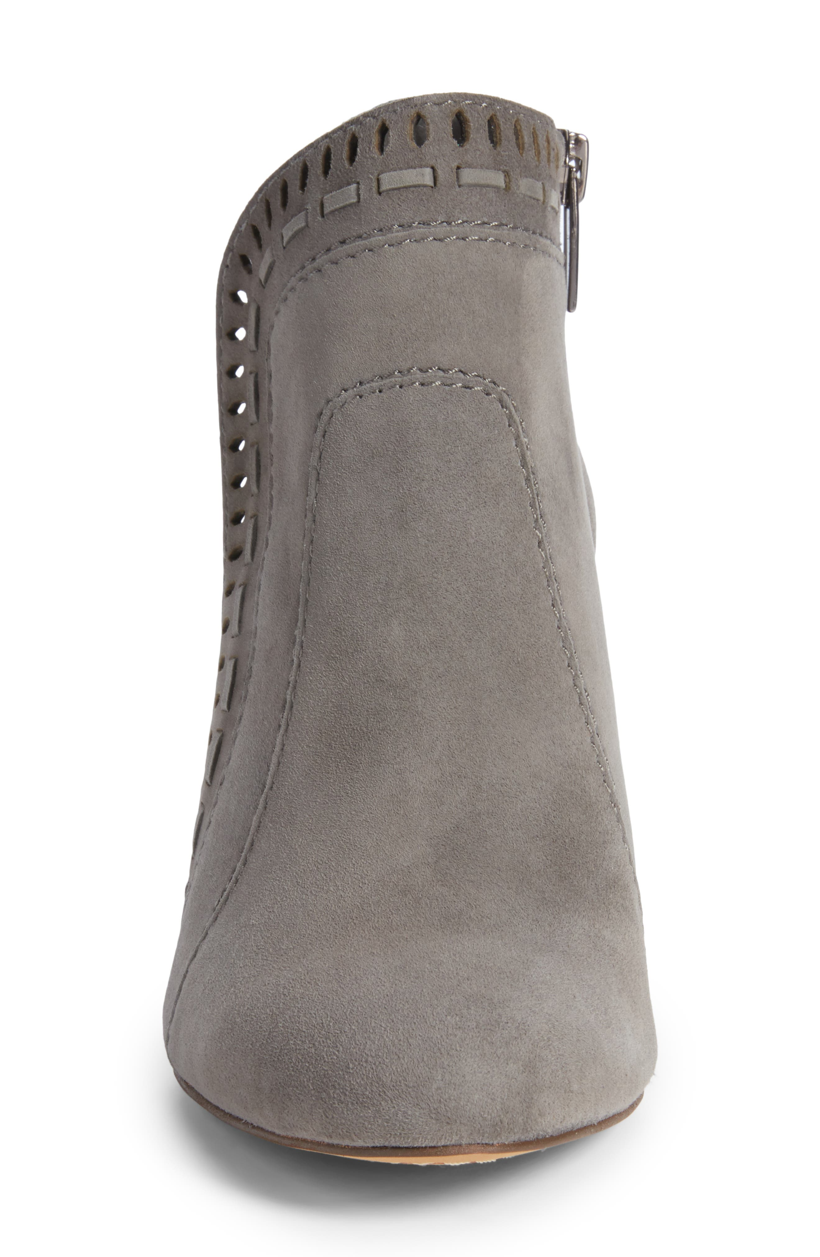 Reeista Bootie,                             Alternate thumbnail 4, color,                             GREYSTONE SUEDE