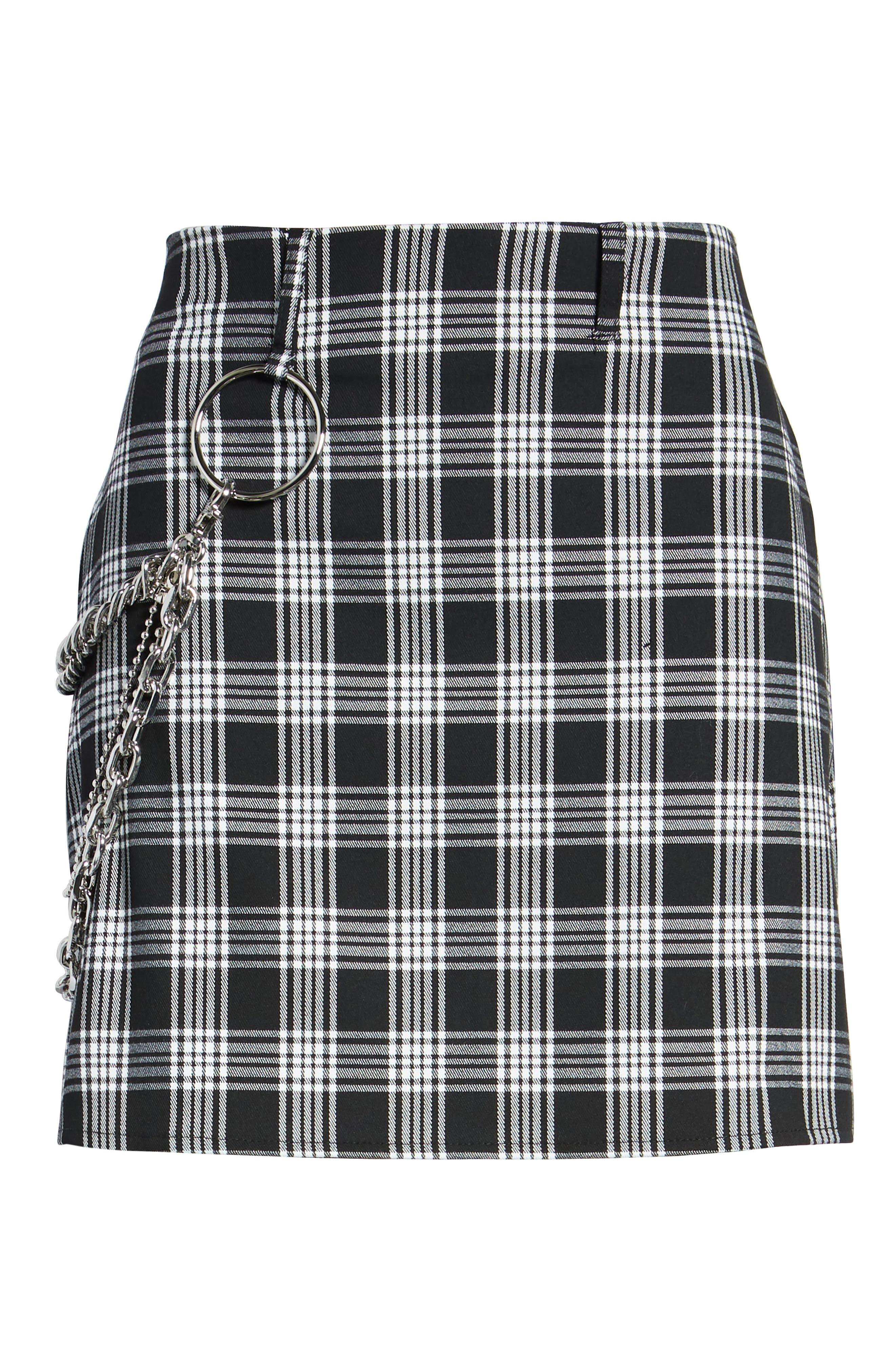 Madison Skirt,                             Alternate thumbnail 6, color,                             BLACK